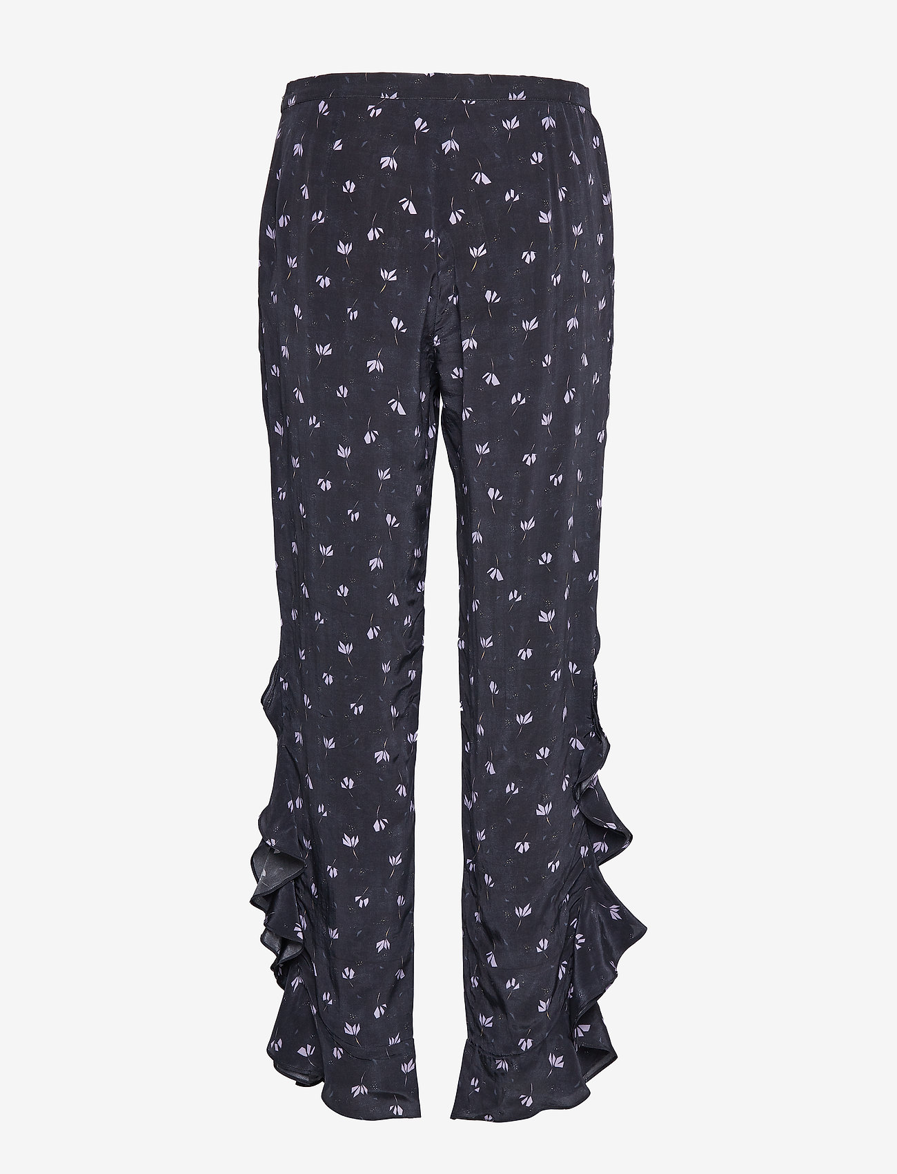 2NDDAY - 2ND Ursula Anemone - wide leg trousers - black - 1