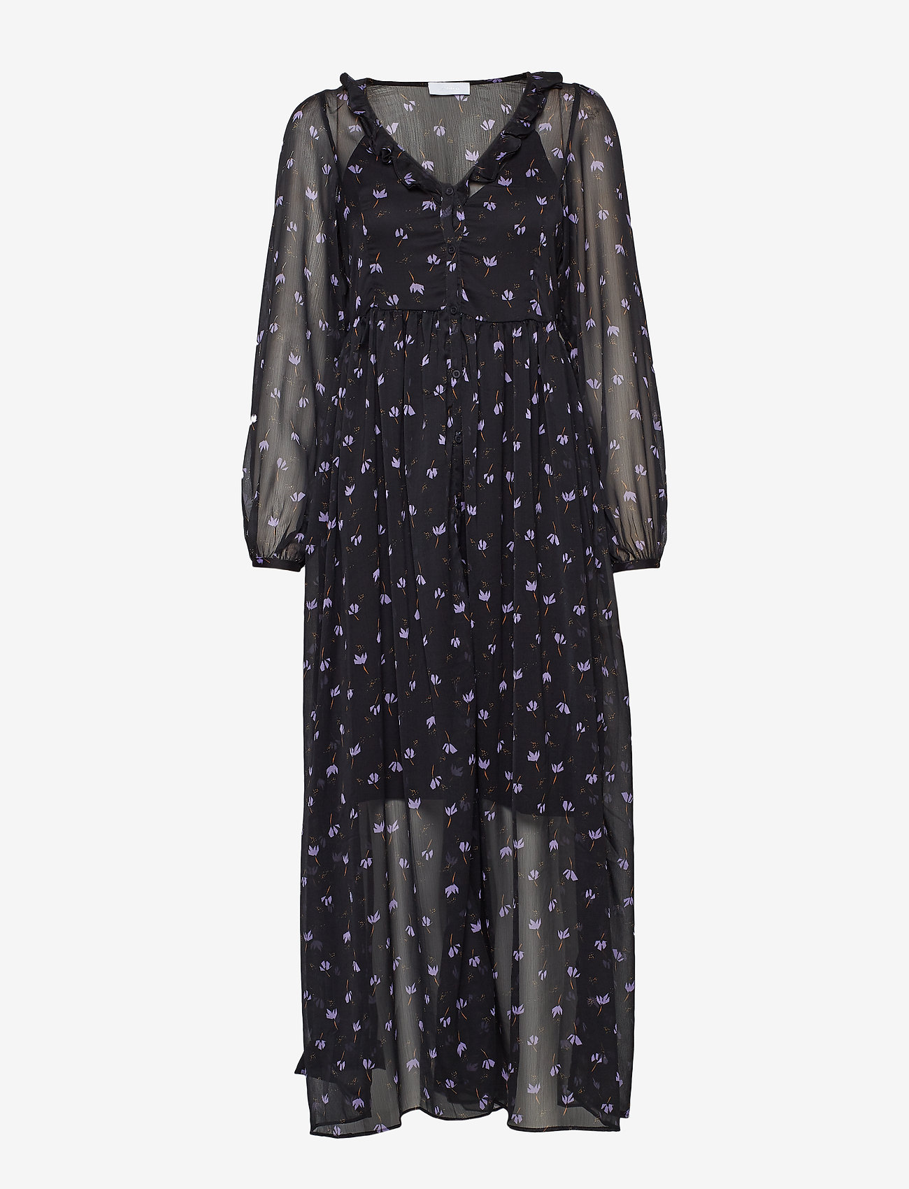2NDDAY - 2ND Petra Anemone - maxi jurken - black - 0