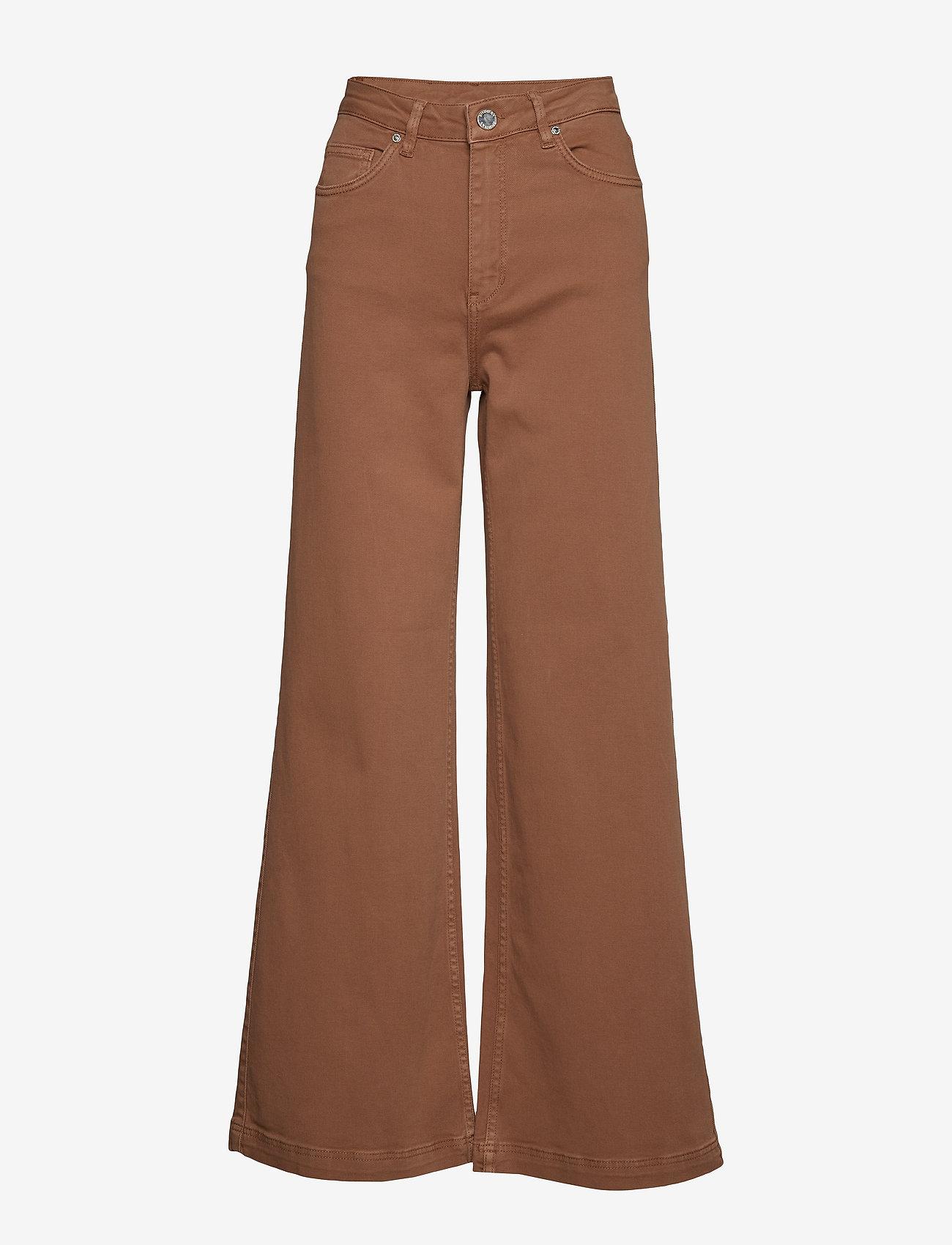 2NDDAY - 2ND Frecla - wide leg trousers - golden camel - 0