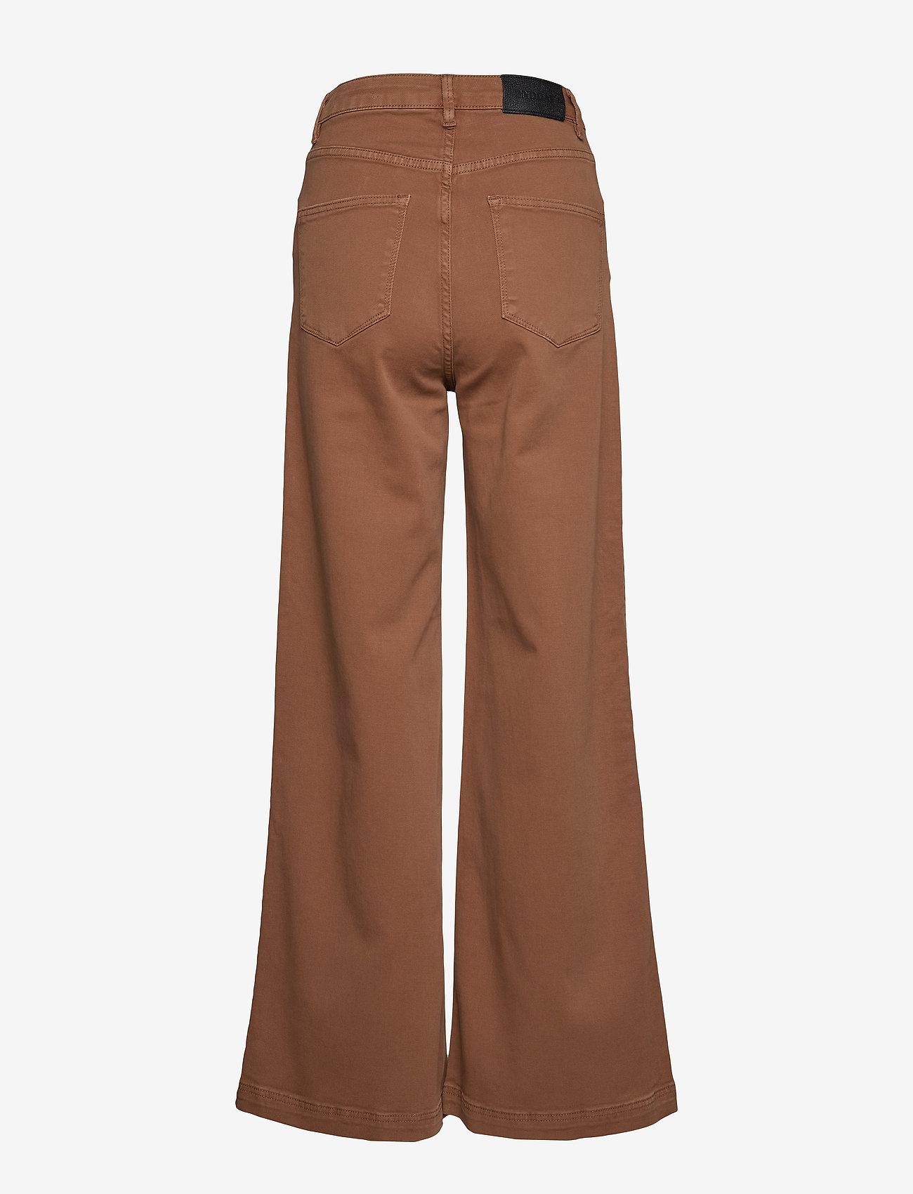 2NDDAY - 2ND Frecla - wide leg trousers - golden camel - 1