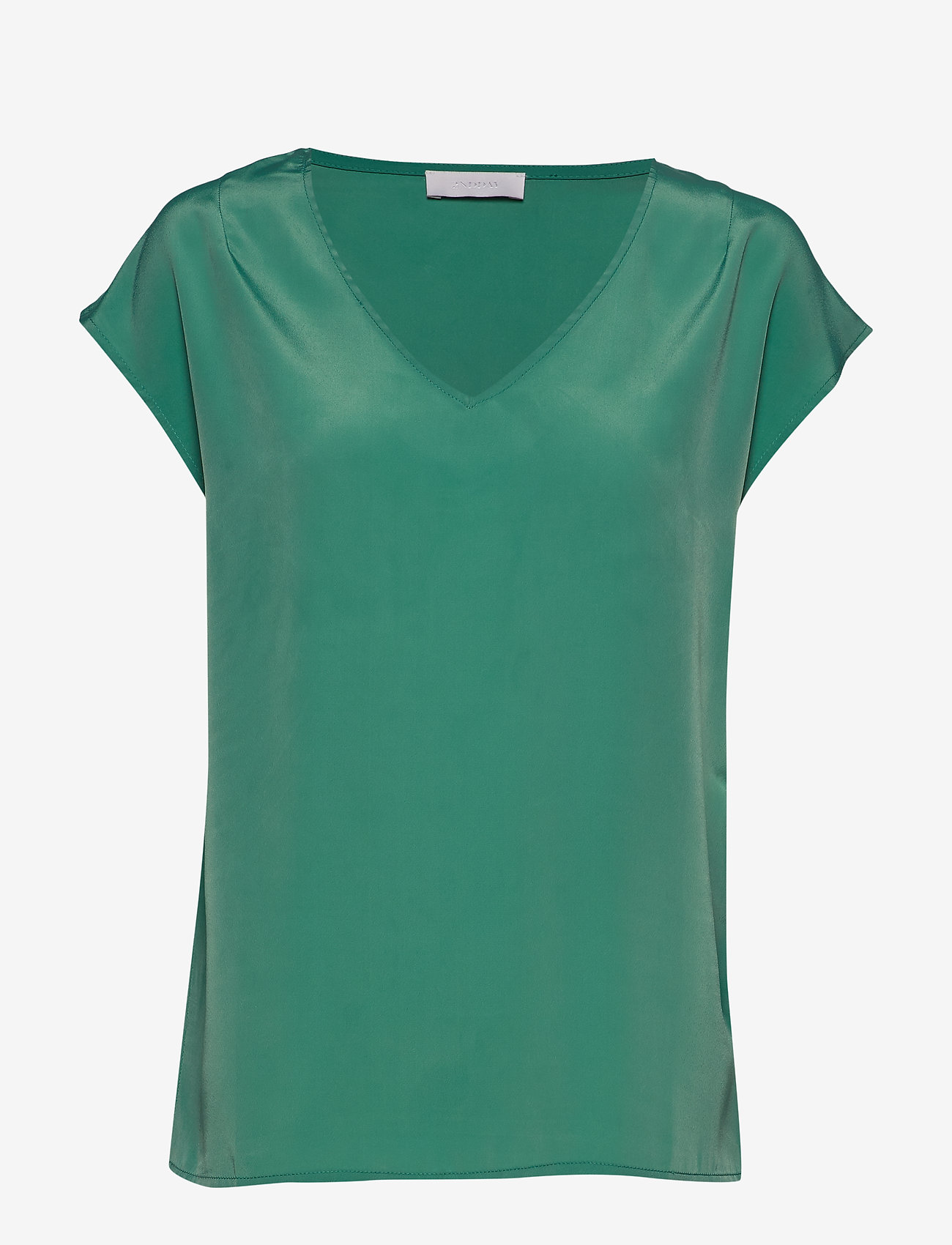 2NDDAY - 2ND Dusk - basis t-shirts - green spruce - 0
