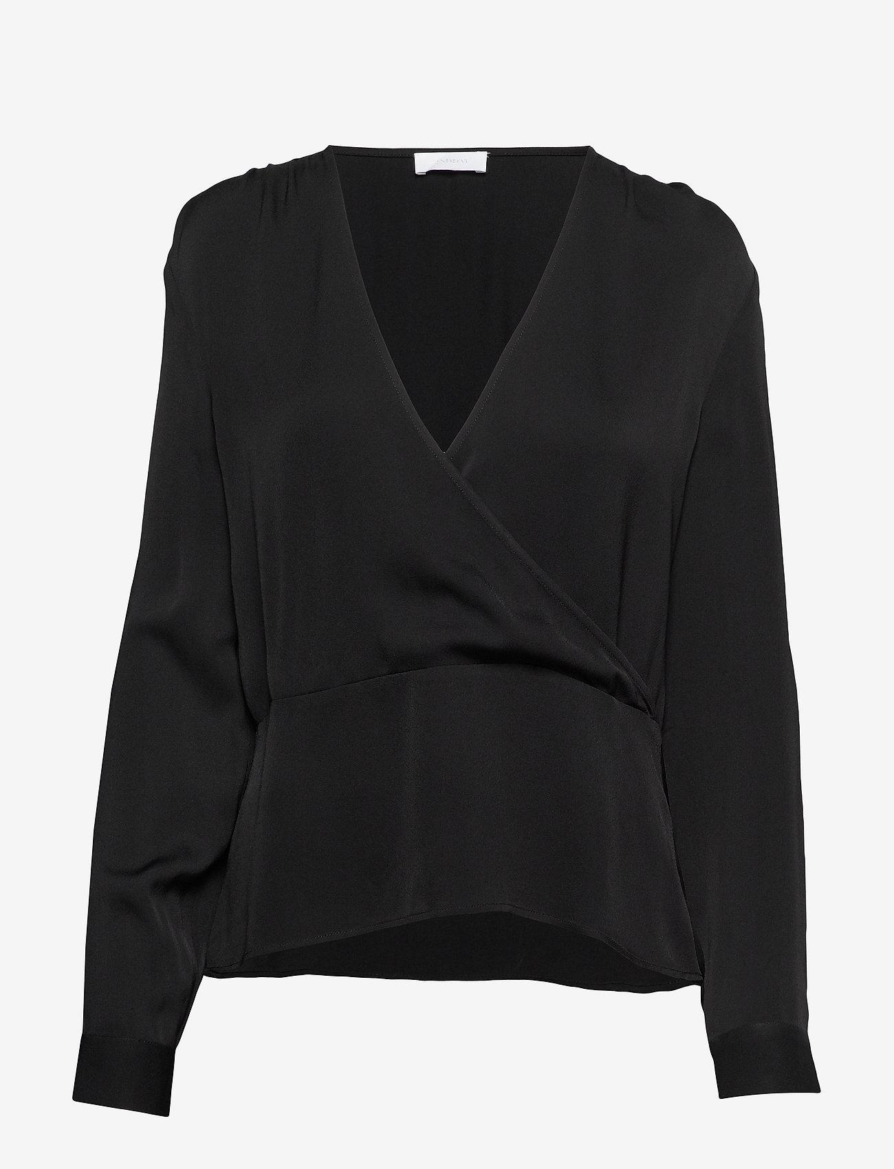 2NDDAY - 2ND Editha - long sleeved blouses - black