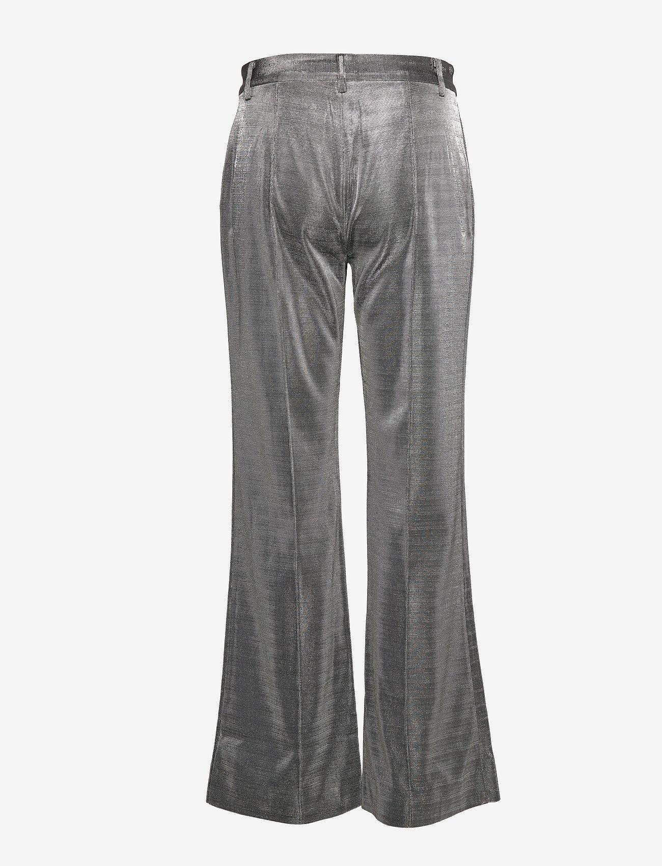 2NDDAY - 2ND Farrow - wide leg trousers - silver - 1