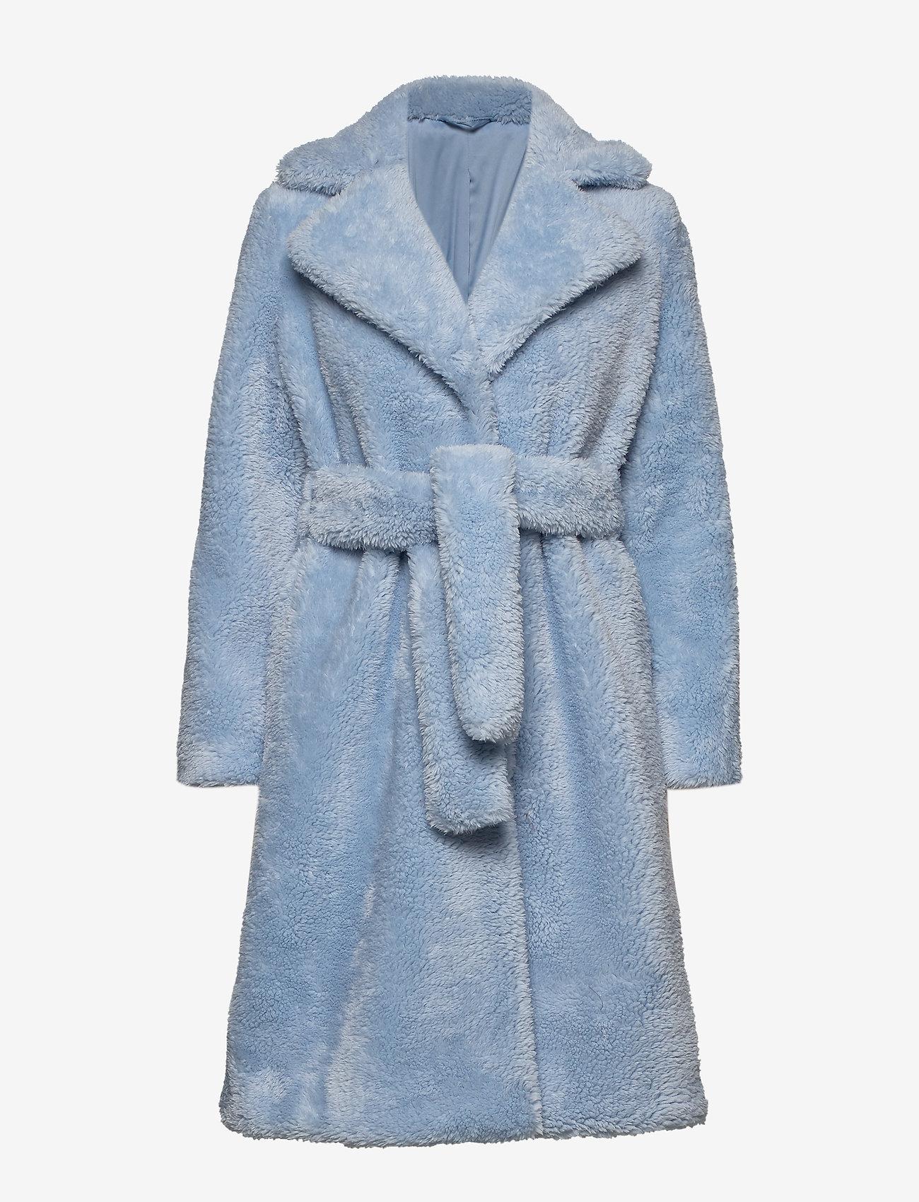 2NDDAY - 2ND Lalla - sztuczne futro - cashmere blue - 0