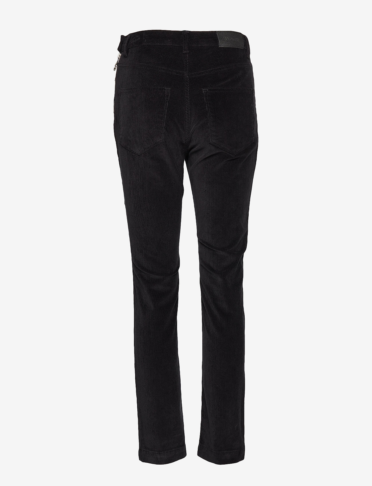 2NDDAY - 2ND Jeanett Cord - straight leg trousers - black - 1