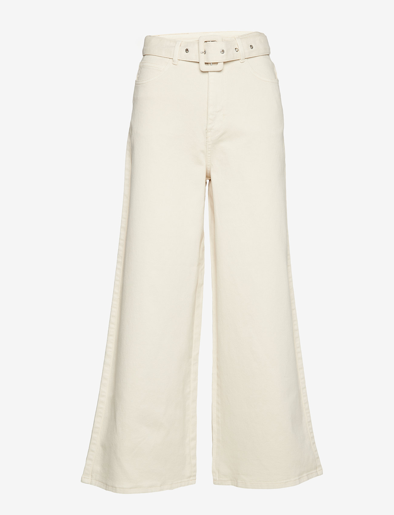 2NDDAY - 2ND Fairy - wide leg trousers - turtledove - 0