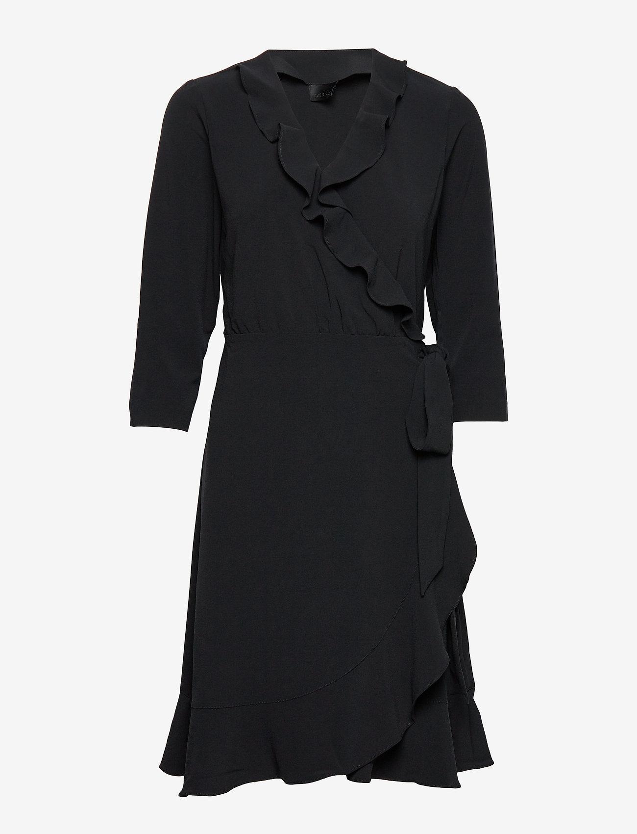 2NDDAY - 2ND Elly - wikkel jurken - black - 0