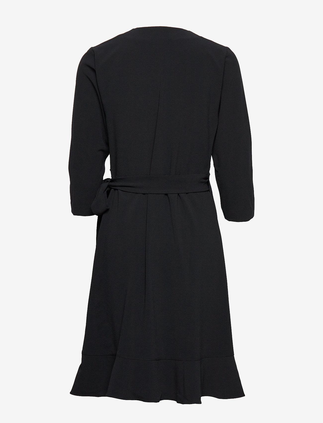 2NDDAY - 2ND Elly - wikkel jurken - black - 1