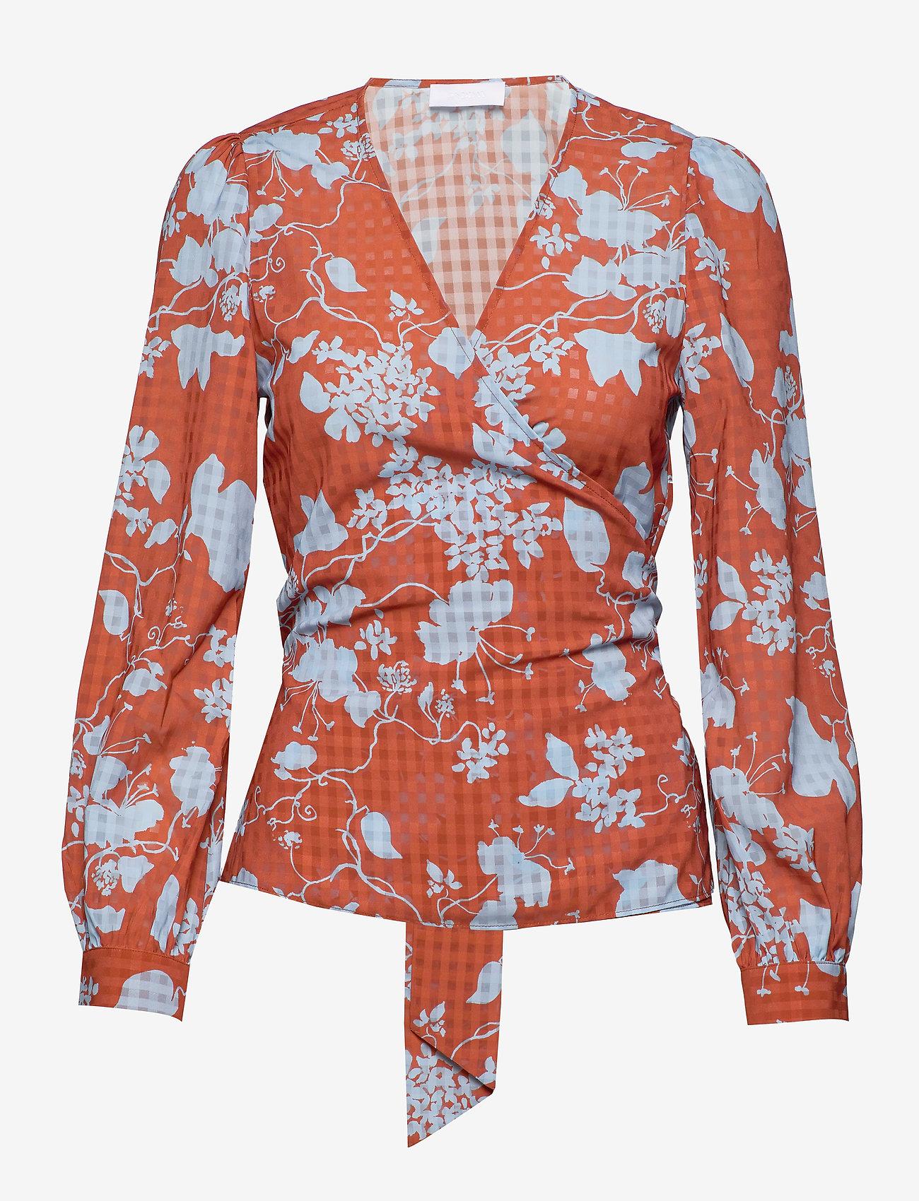 2NDDAY - 2ND Harlow Flowy - blouses med lange mouwen - cerulean blue - 0