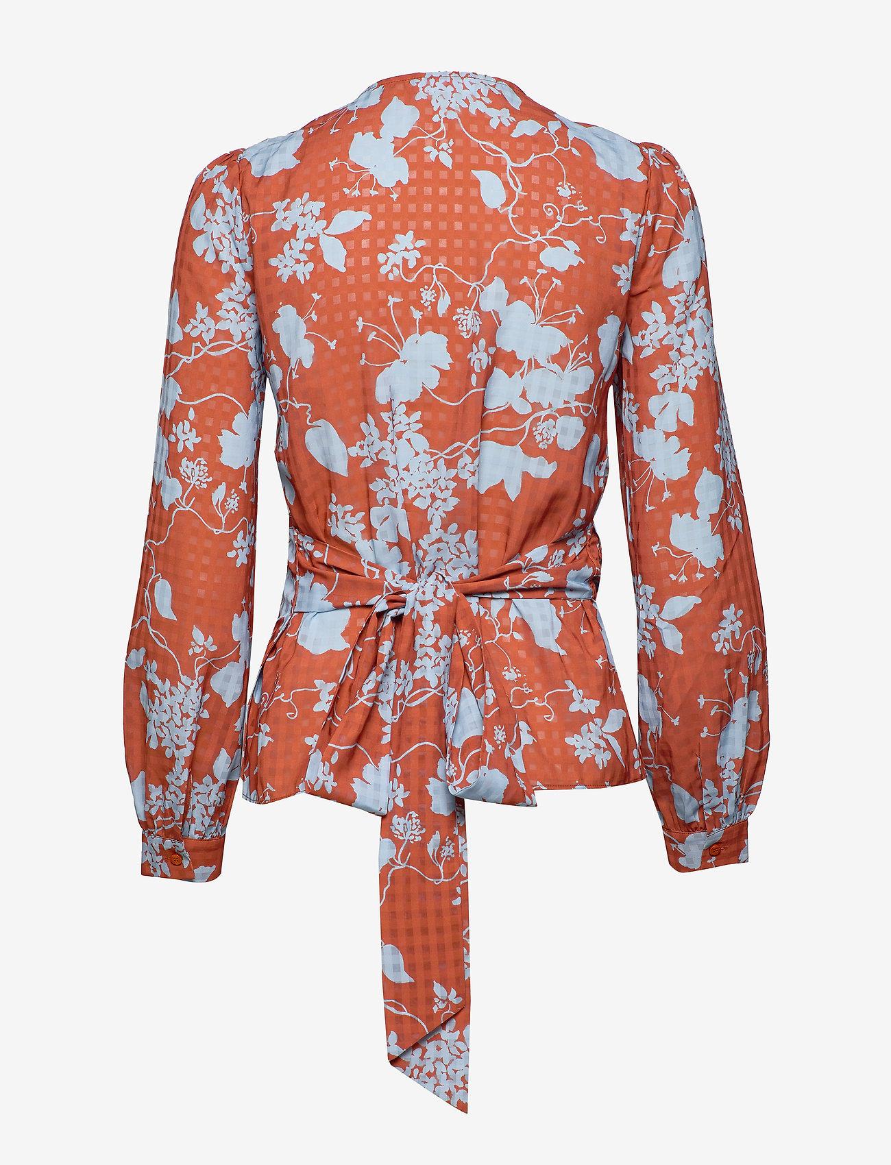 2NDDAY - 2ND Harlow Flowy - blouses med lange mouwen - cerulean blue - 1