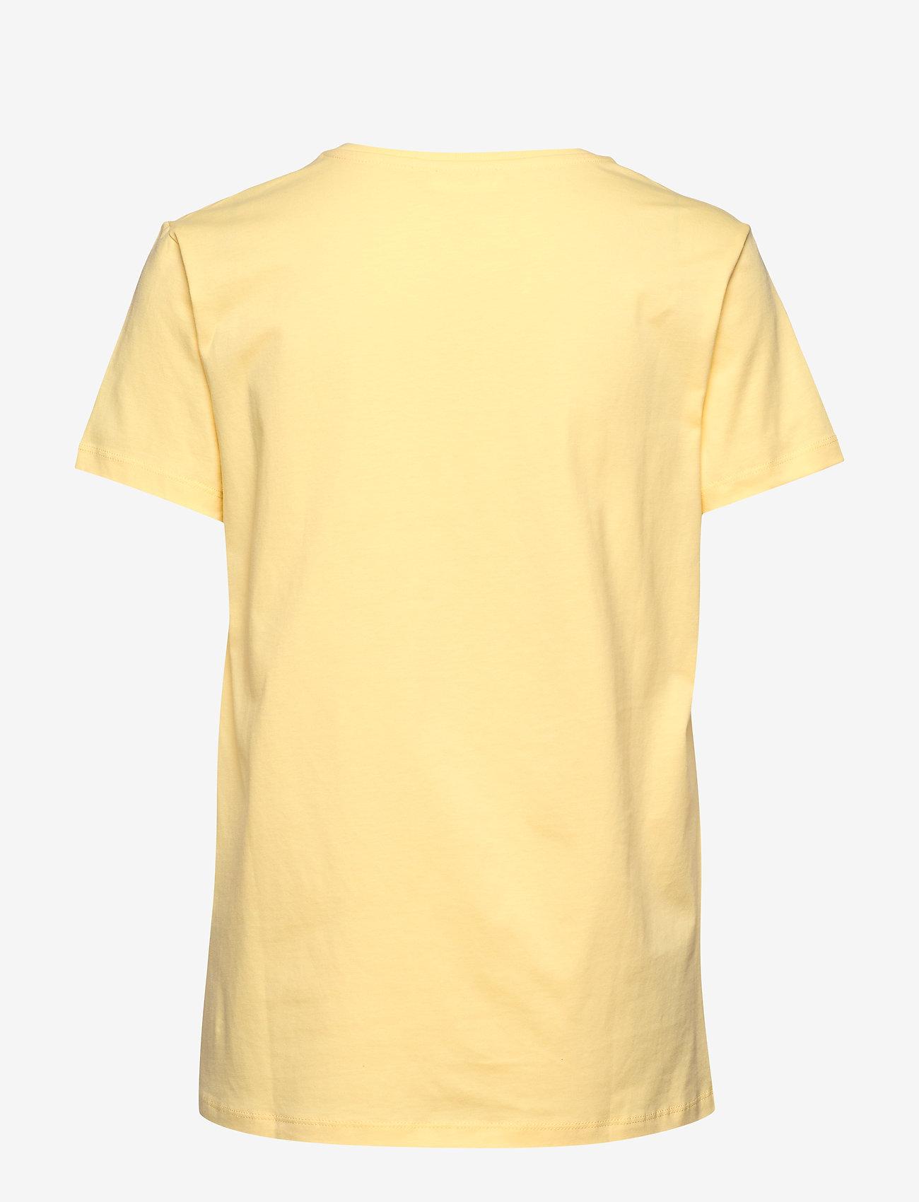 2NDDAY - 2ND Iconic - printti t-paidat - mellow yellow