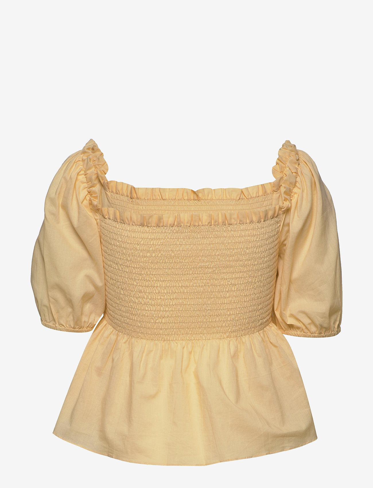 2NDDAY - 2ND Vilde - short-sleeved blouses - golden fleece - 1