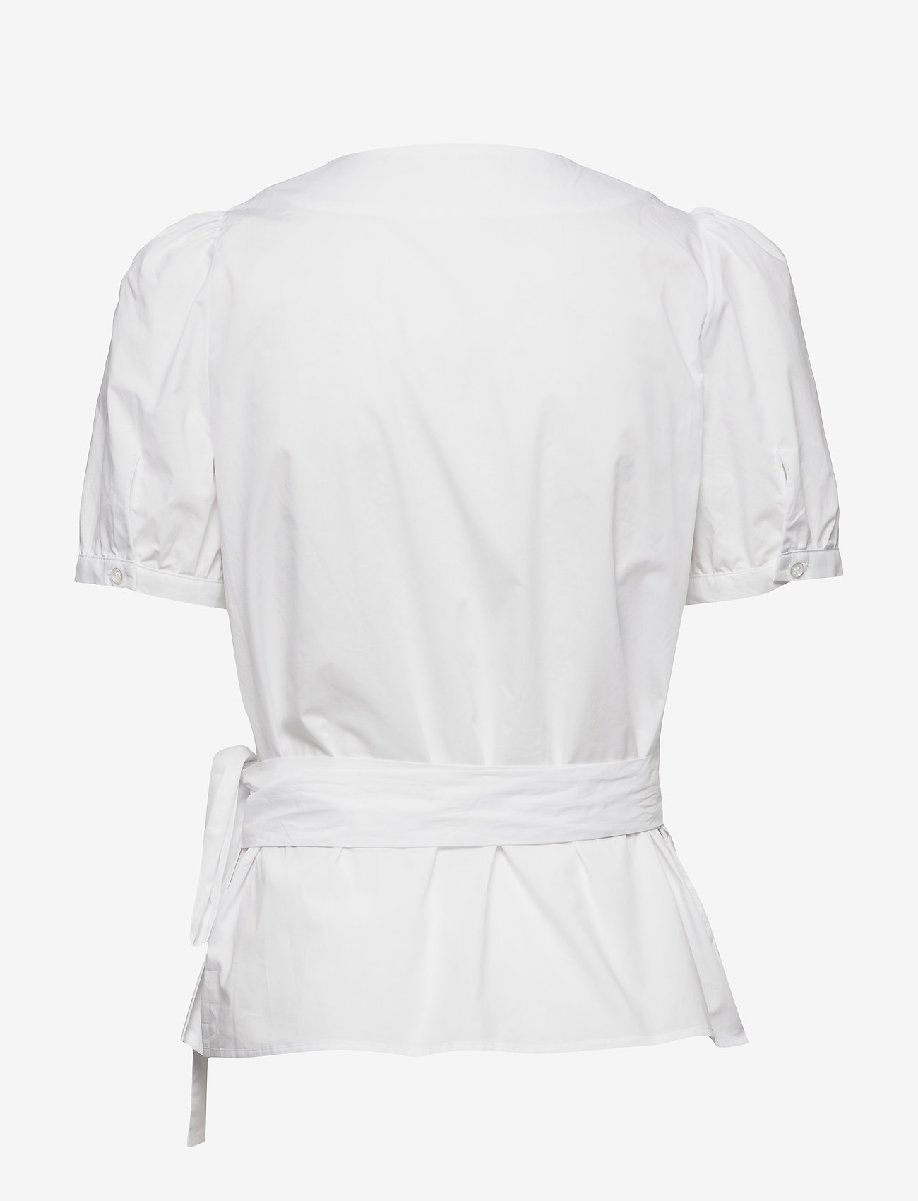 2NDDAY - 2ND Janice - short-sleeved blouses - white - 1