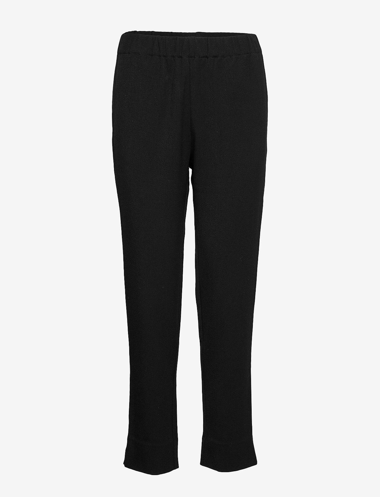 2NDDAY - 2ND Addie - straight leg trousers - black - 0