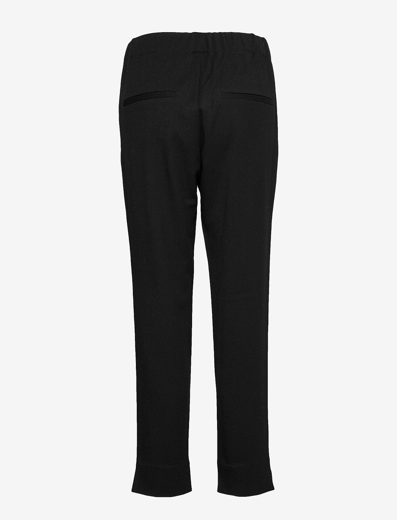 2NDDAY - 2ND Addie - straight leg trousers - black - 1