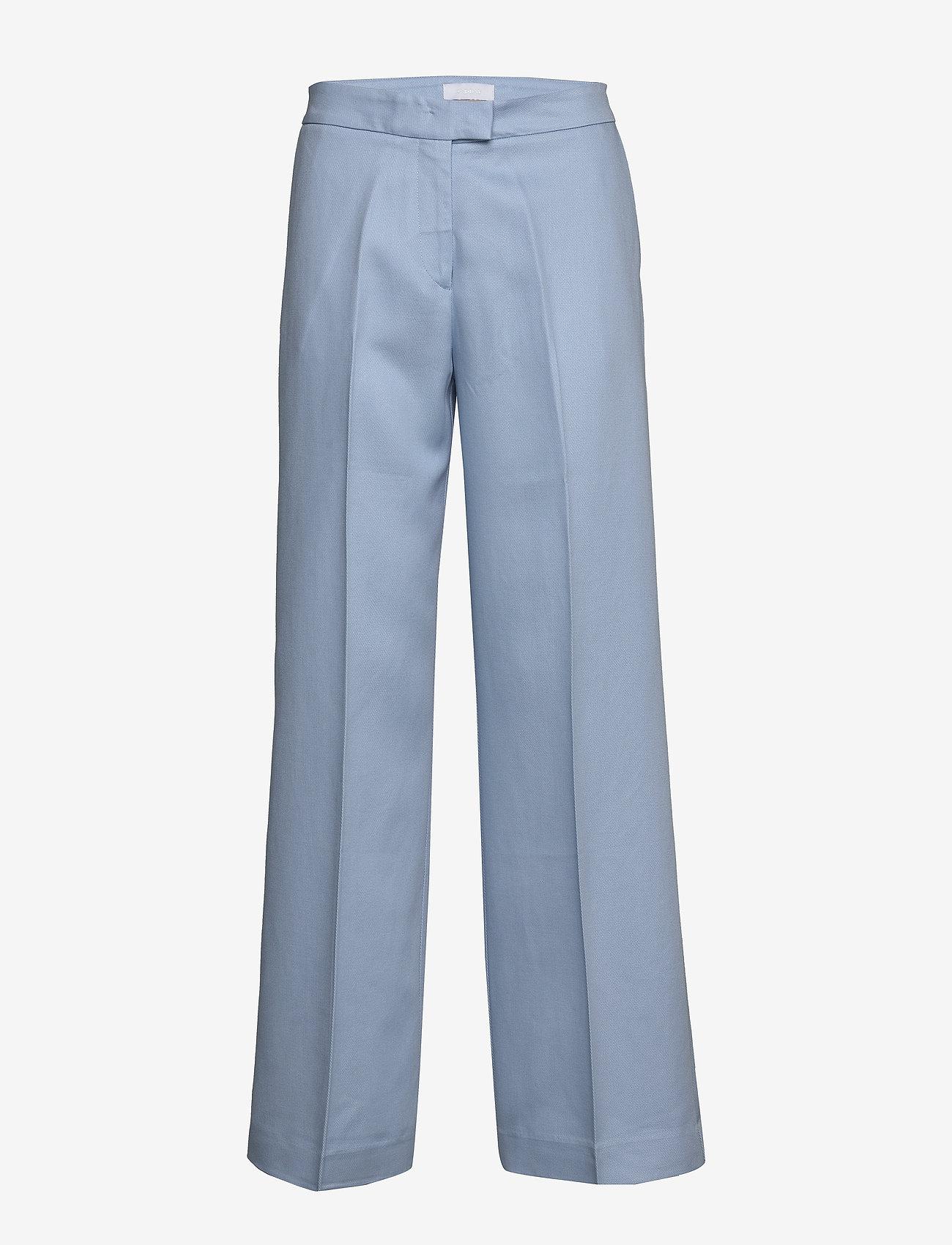 2NDDAY - 2ND Chrissy ThinkTwice - uitlopende broeken - cashmere blue - 1