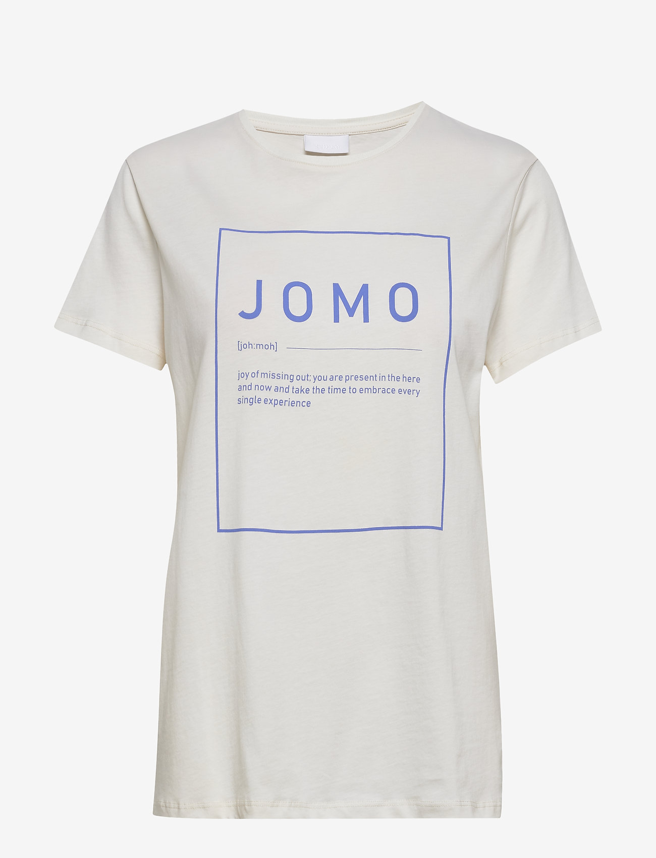 2NDDAY - 2ND Jomo ThinkTwice - t-shirts - jet stream - 0