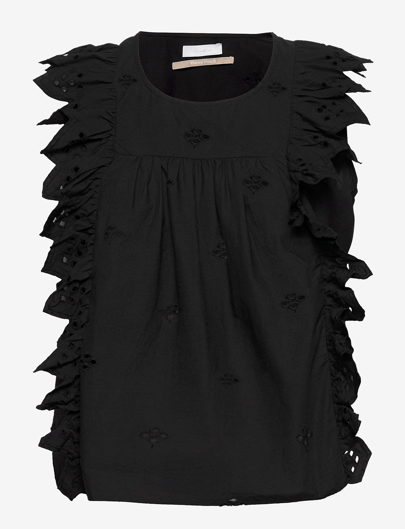 2NDDAY - 2ND Esther THINKTWICE - blouses zonder mouwen - black - 0