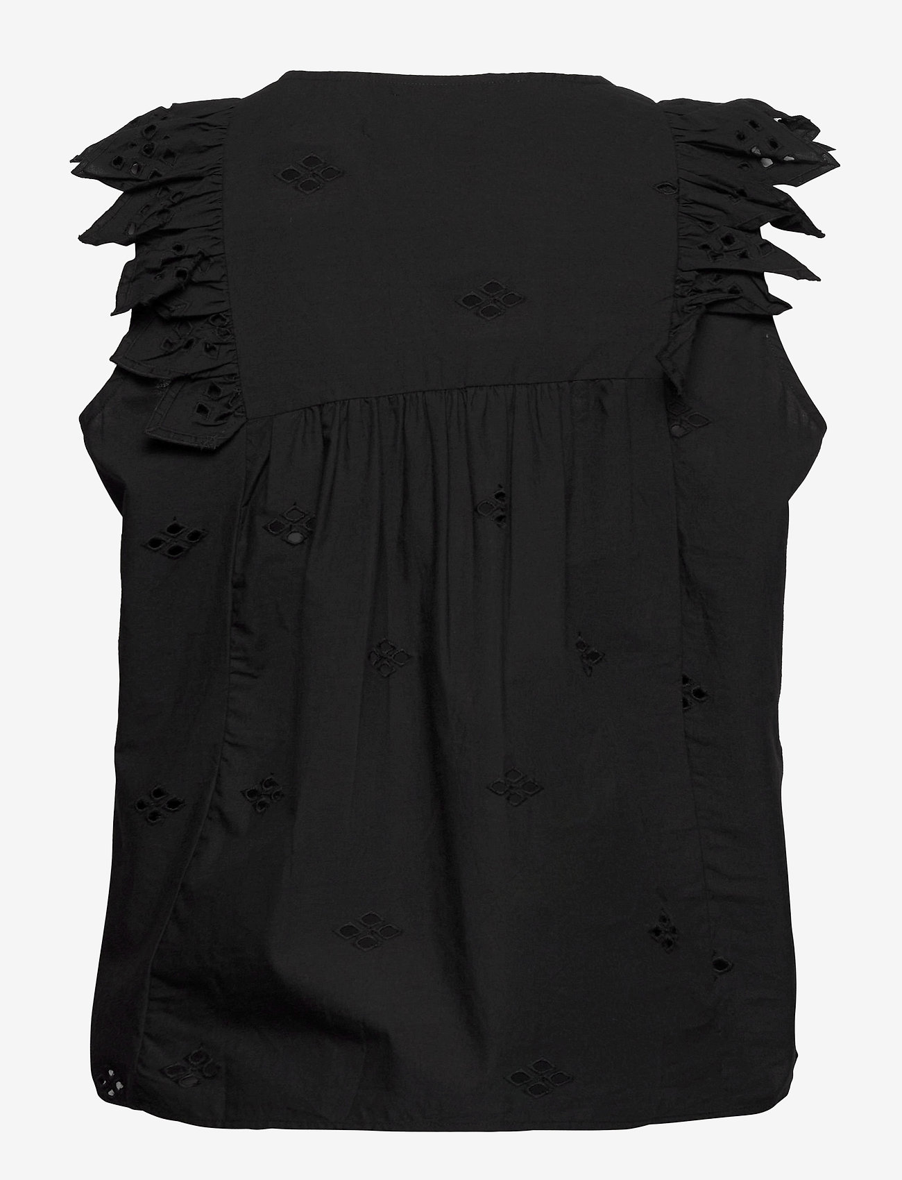 2NDDAY - 2ND Esther THINKTWICE - blouses zonder mouwen - black - 1
