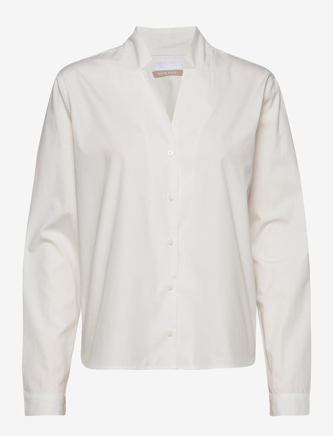 2NDDAY - 2ND Beth ThinkTwice - blouses med lange mouwen - white - 1