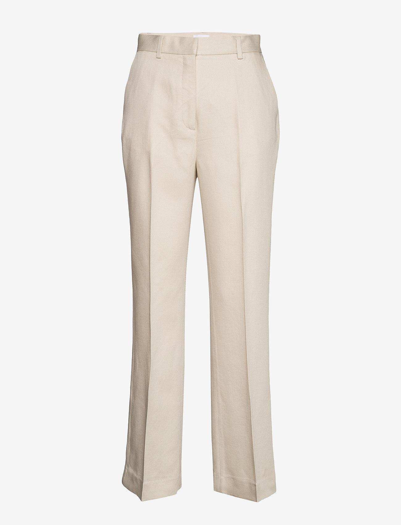 2NDDAY - 2ND Annie ThinkTwice - straight leg trousers - broken white - 1