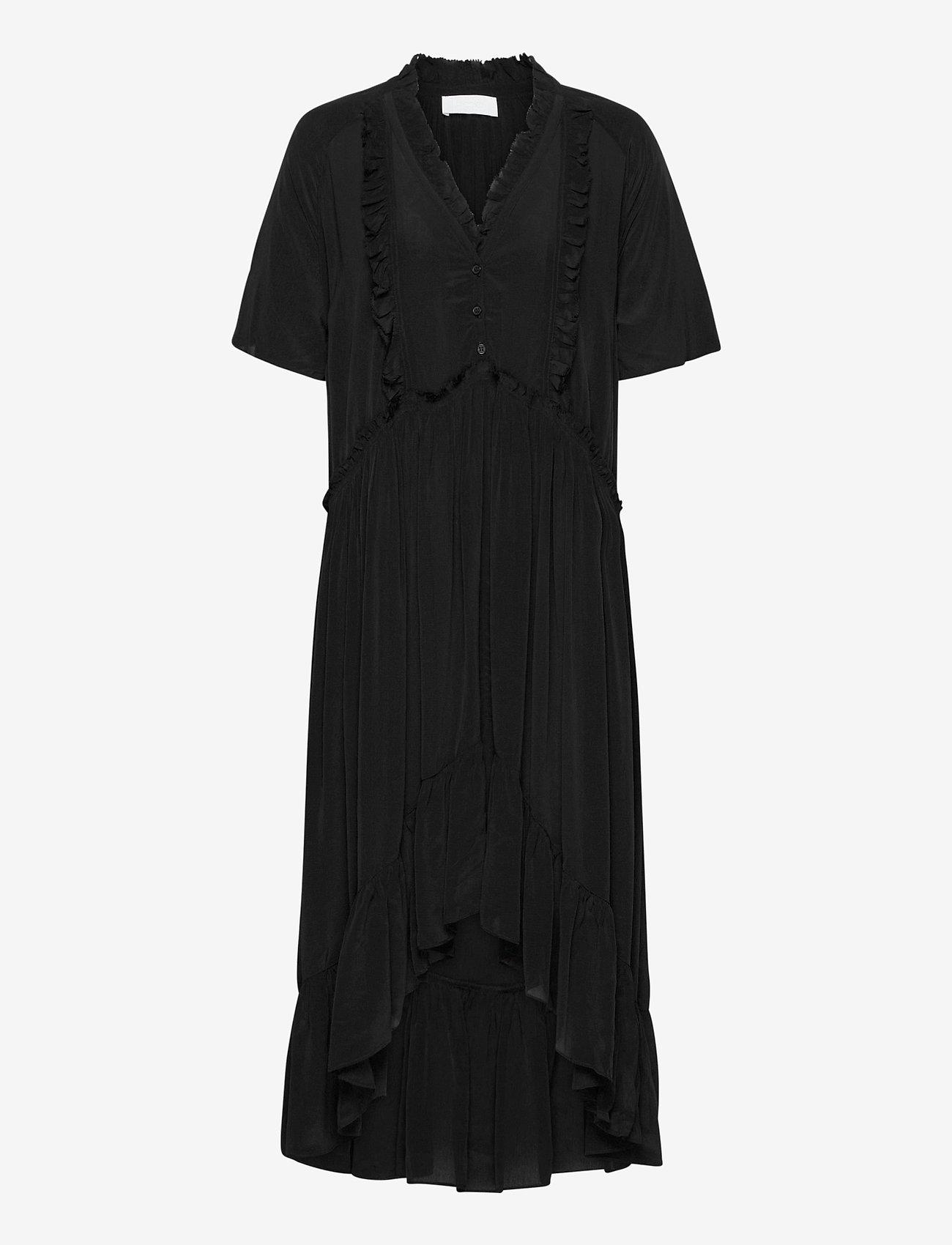 2NDDAY - 2ND Edition Gwen - midi jurken - black - 0
