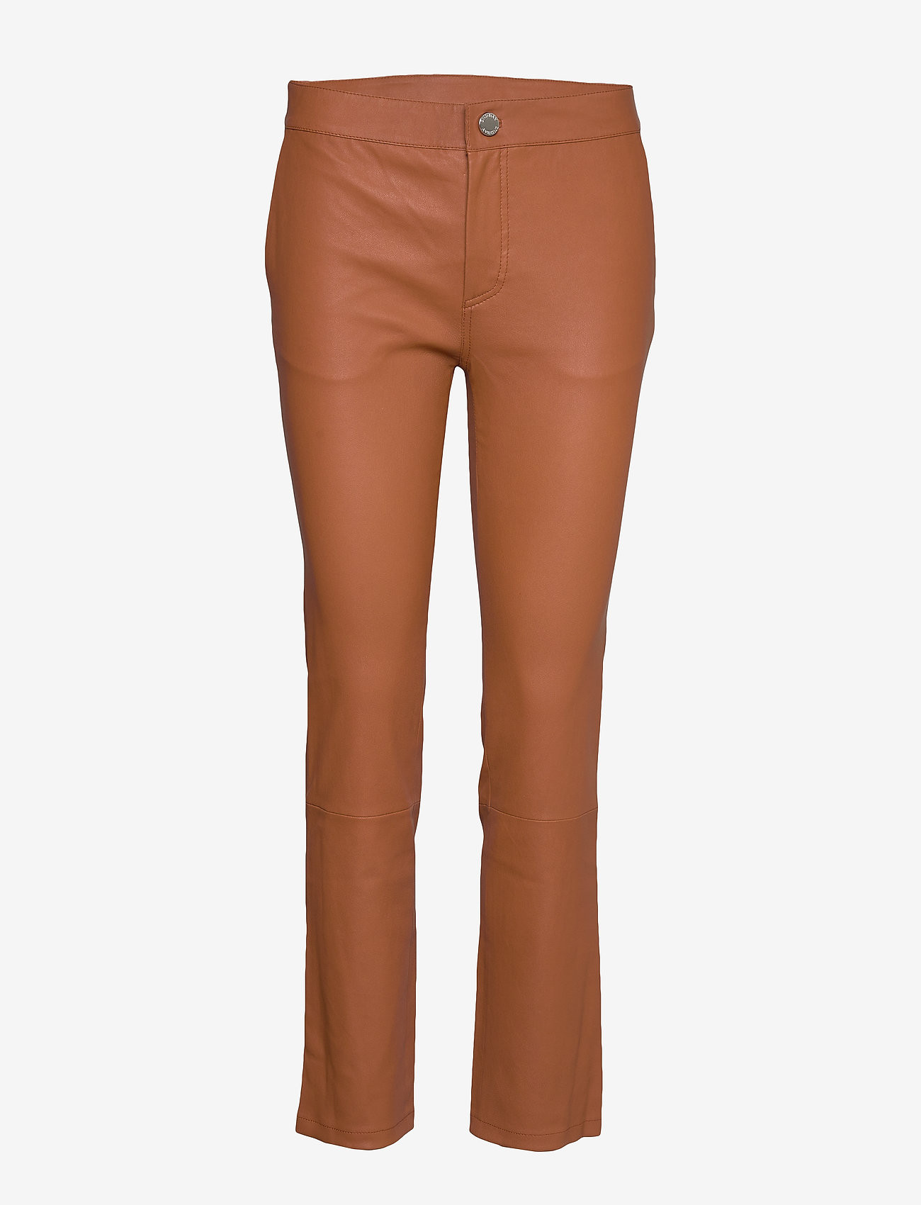 2NDDAY - 2ND Leya - leather trousers - mocha bisque - 0