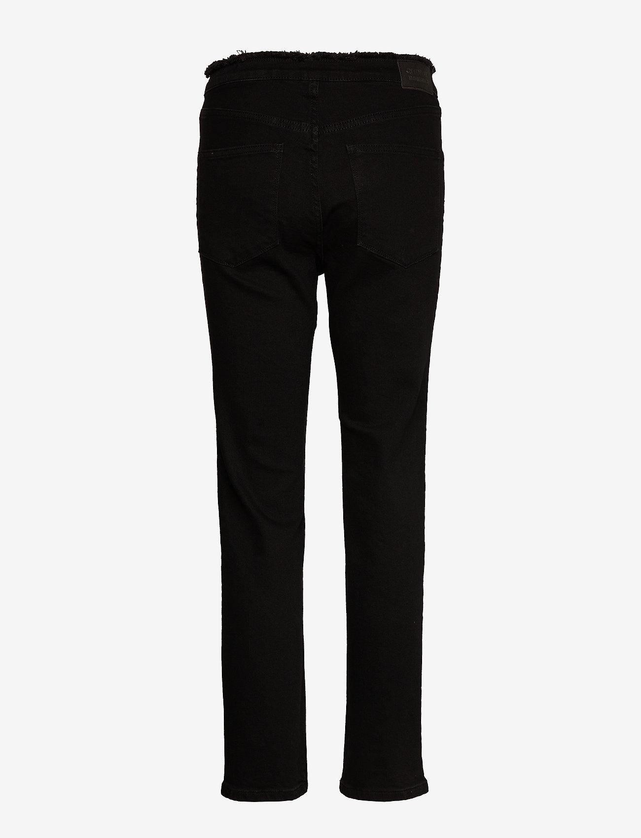 2NDDAY - 2ND Riggis Comfort ThinkTwice - broeken med straight ben - black denim - 1