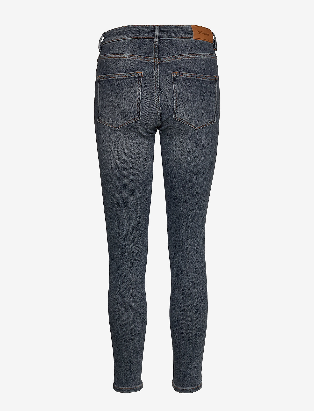 2NDDAY - 2ND Jolie Cropped - skinny jeans - mid blue - 1