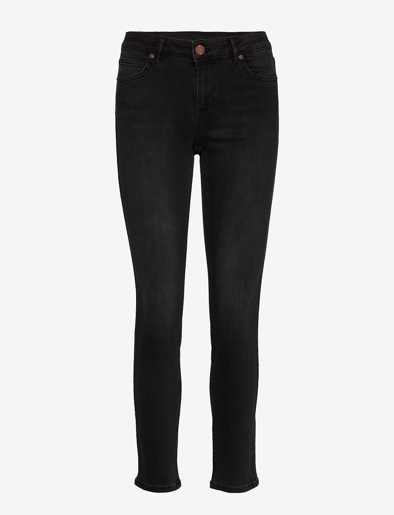 2NDDAY - 2ND Sally Cropped ThinkTwice - skinny jeans - un black denim - 0