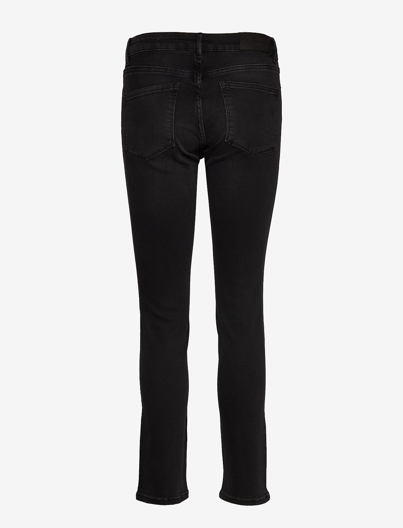 2NDDAY - 2ND Sally Cropped ThinkTwice - skinny jeans - un black denim - 1