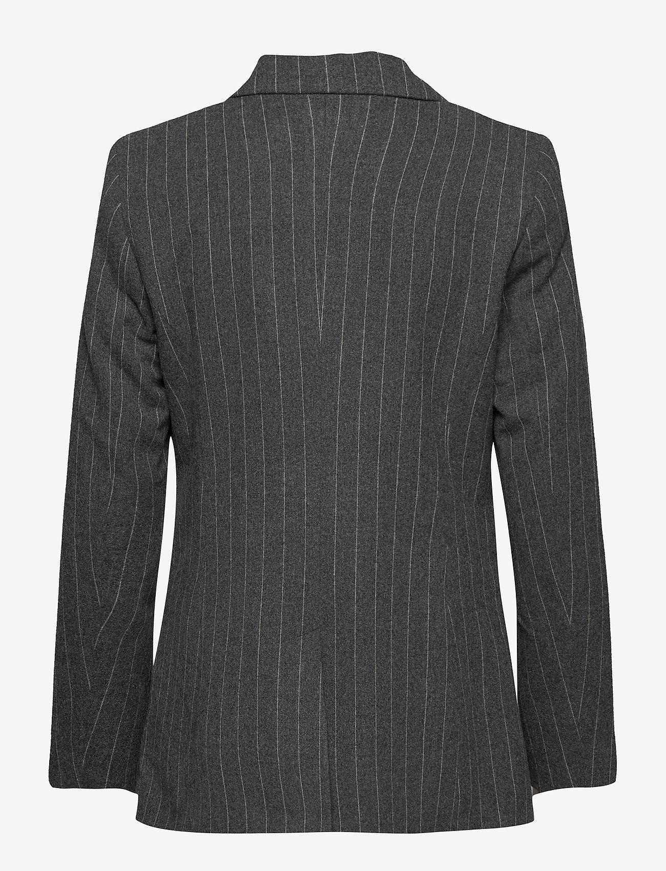 2NDDAY - 2ND Brook Pinstripe - getailleerde blazers - dark grey mel. - 1