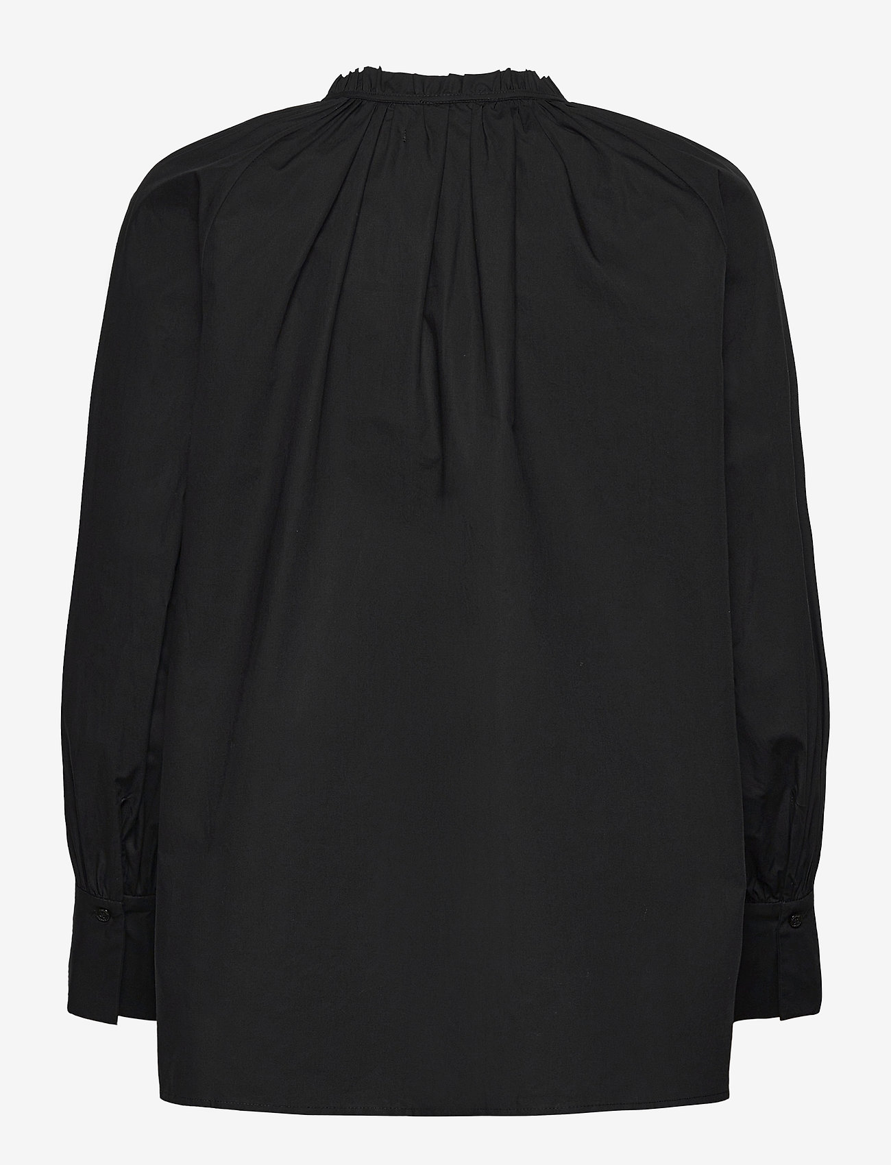 2NDDAY - 2ND Roland Thinktwice - long sleeved blouses - black - 1