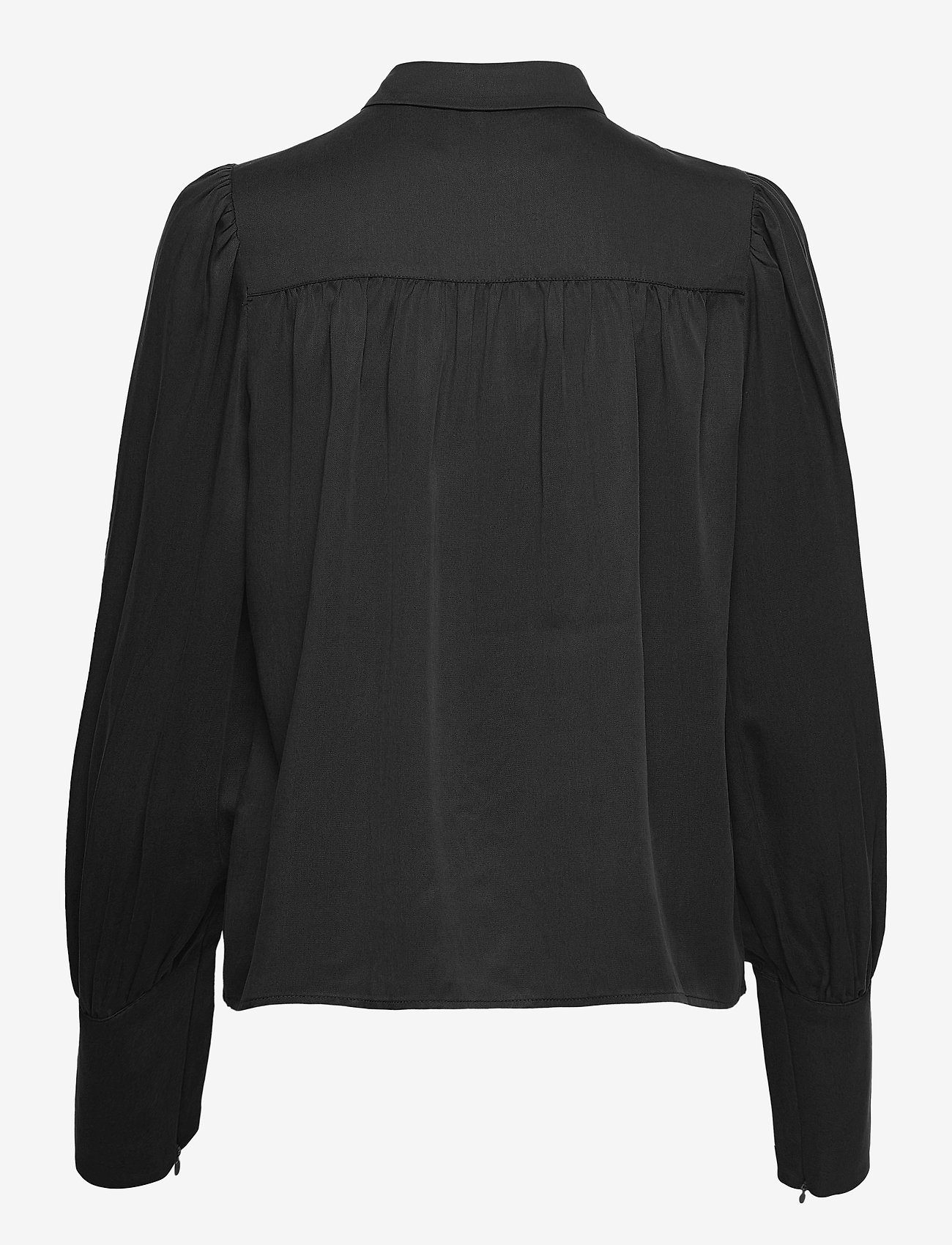 2NDDAY - 2ND Aileen Thinktwice - long sleeved blouses - black - 1
