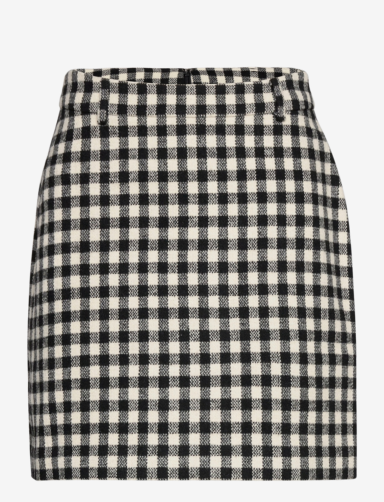 2NDDAY - 2ND Chariton Check - short skirts - black - 1