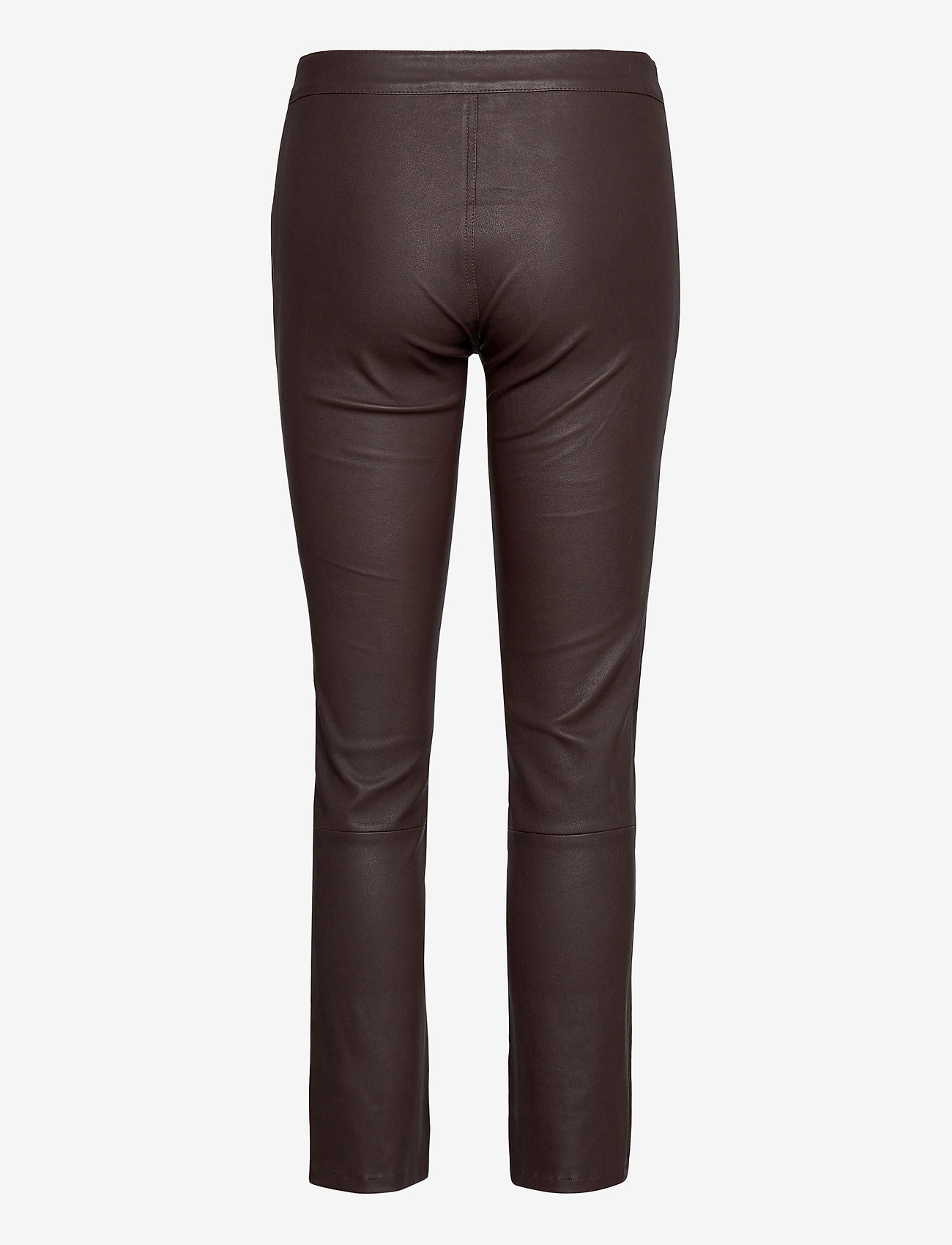 2NDDAY - 2ND Leya - leather trousers - chocolate plum - 2