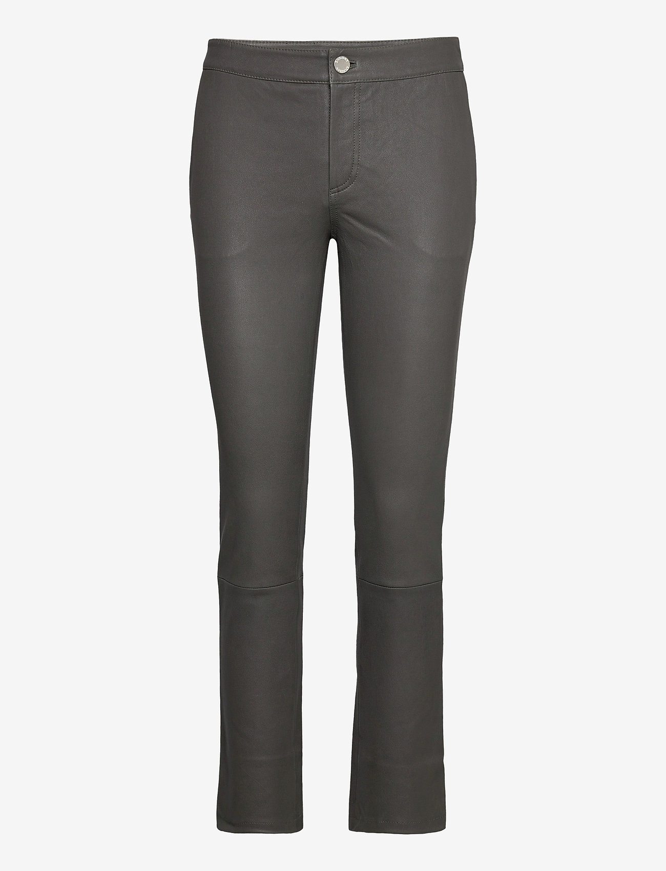 2NDDAY - 2ND Leya - leather trousers - understated black - 0