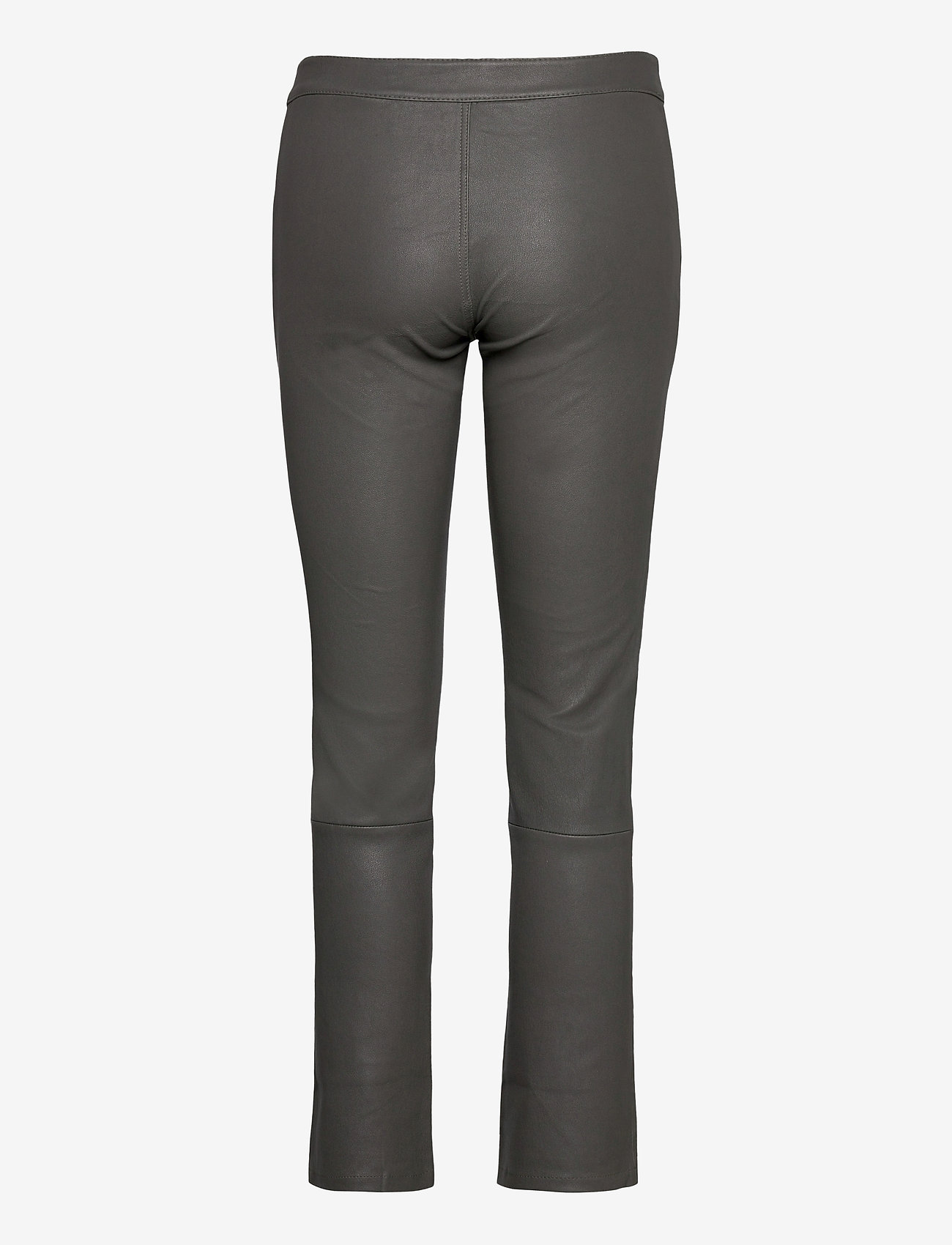 2NDDAY - 2ND Leya - leather trousers - understated black - 1