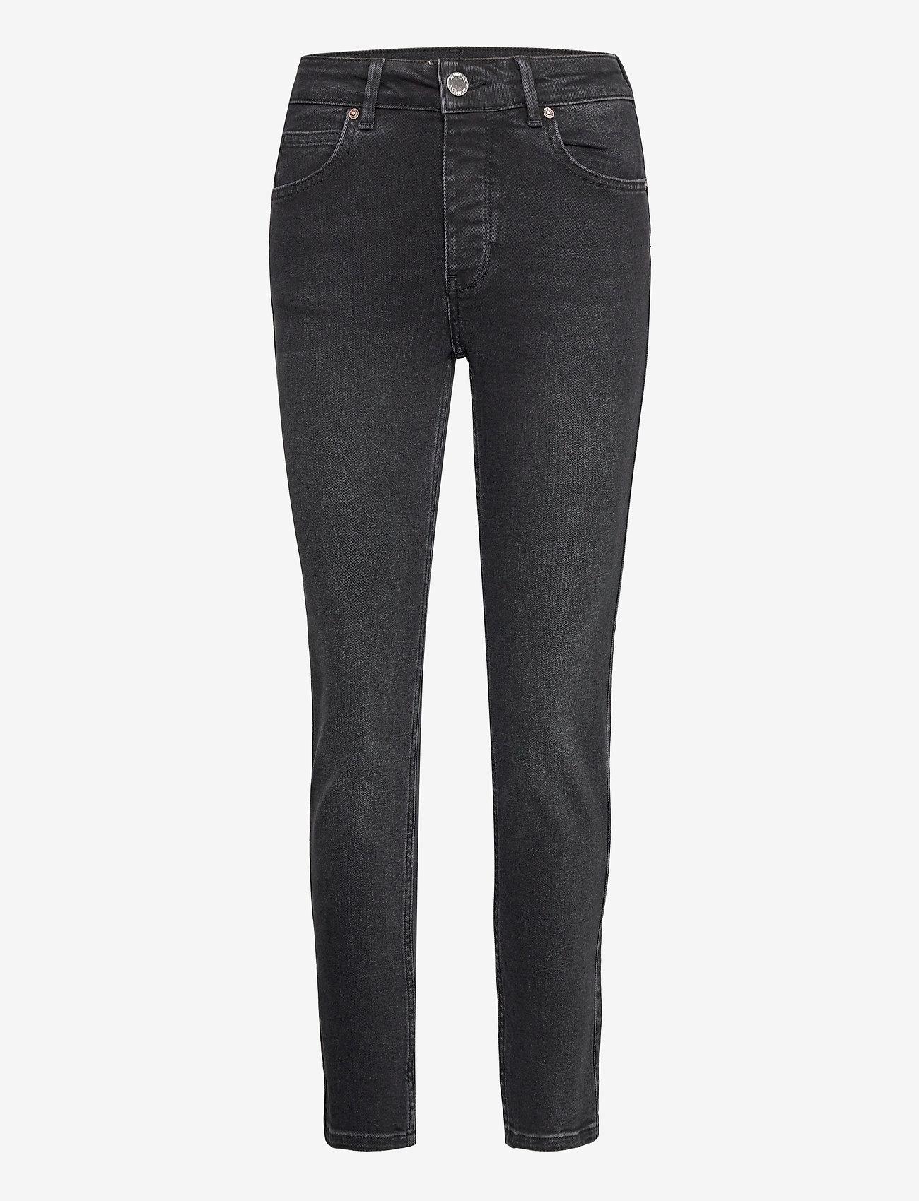 2NDDAY - 2ND Riggis Thinktwice - straight jeans - un black denim - 0