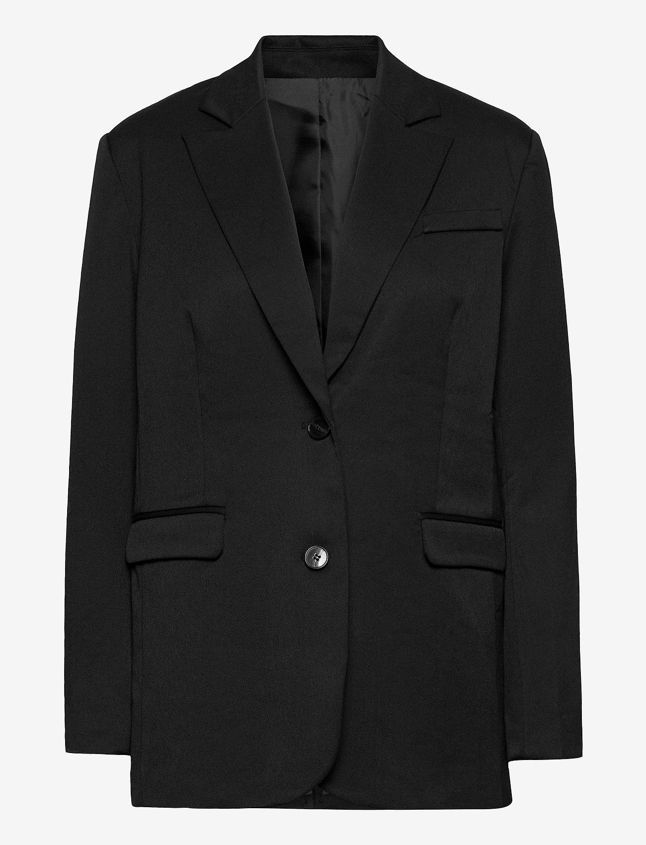 2NDDAY - 2ND Barnett - oversize blazers - black - 0