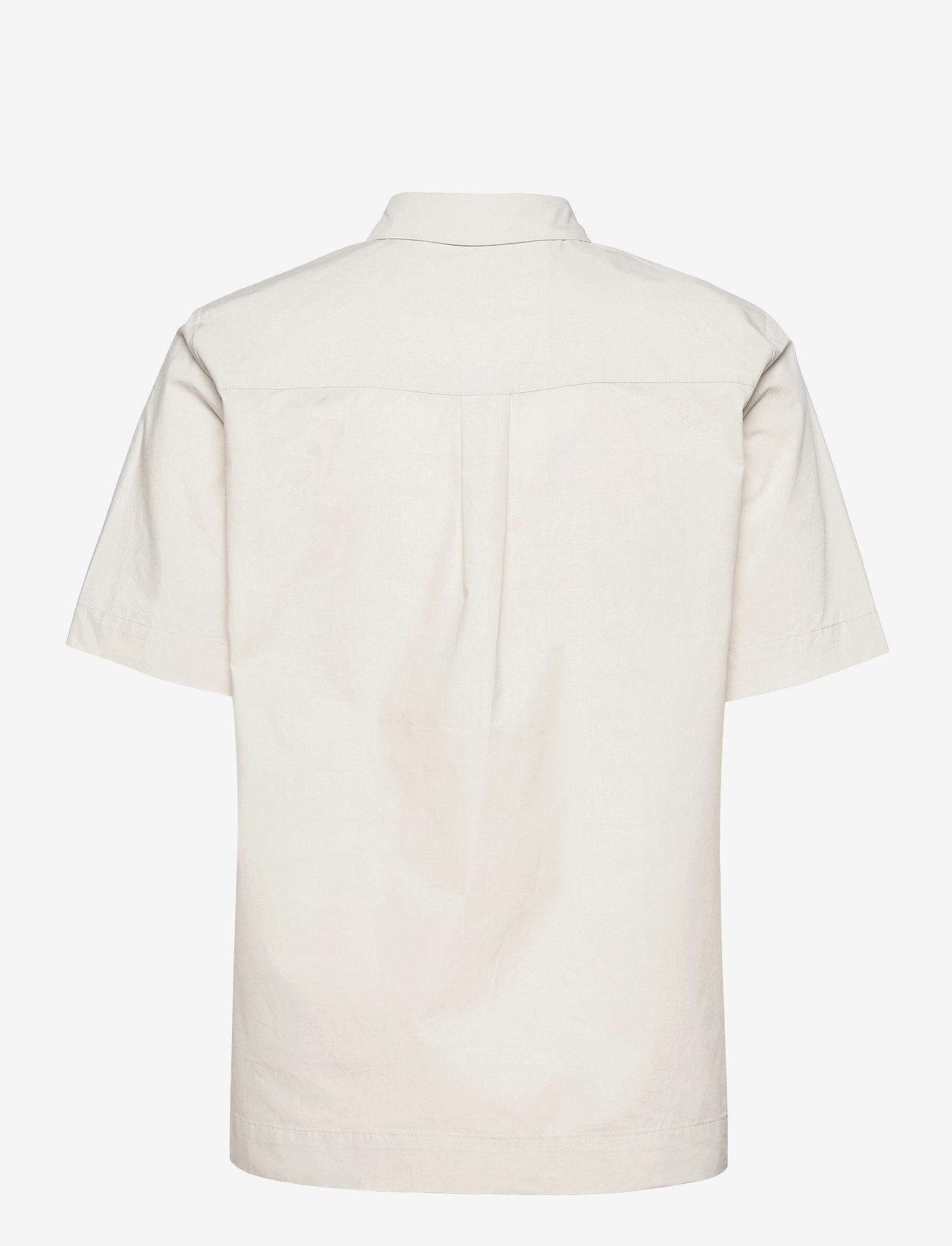 2NDDAY - 2ND Gennady Thinktwice - short-sleeved shirts - silver birch - 1