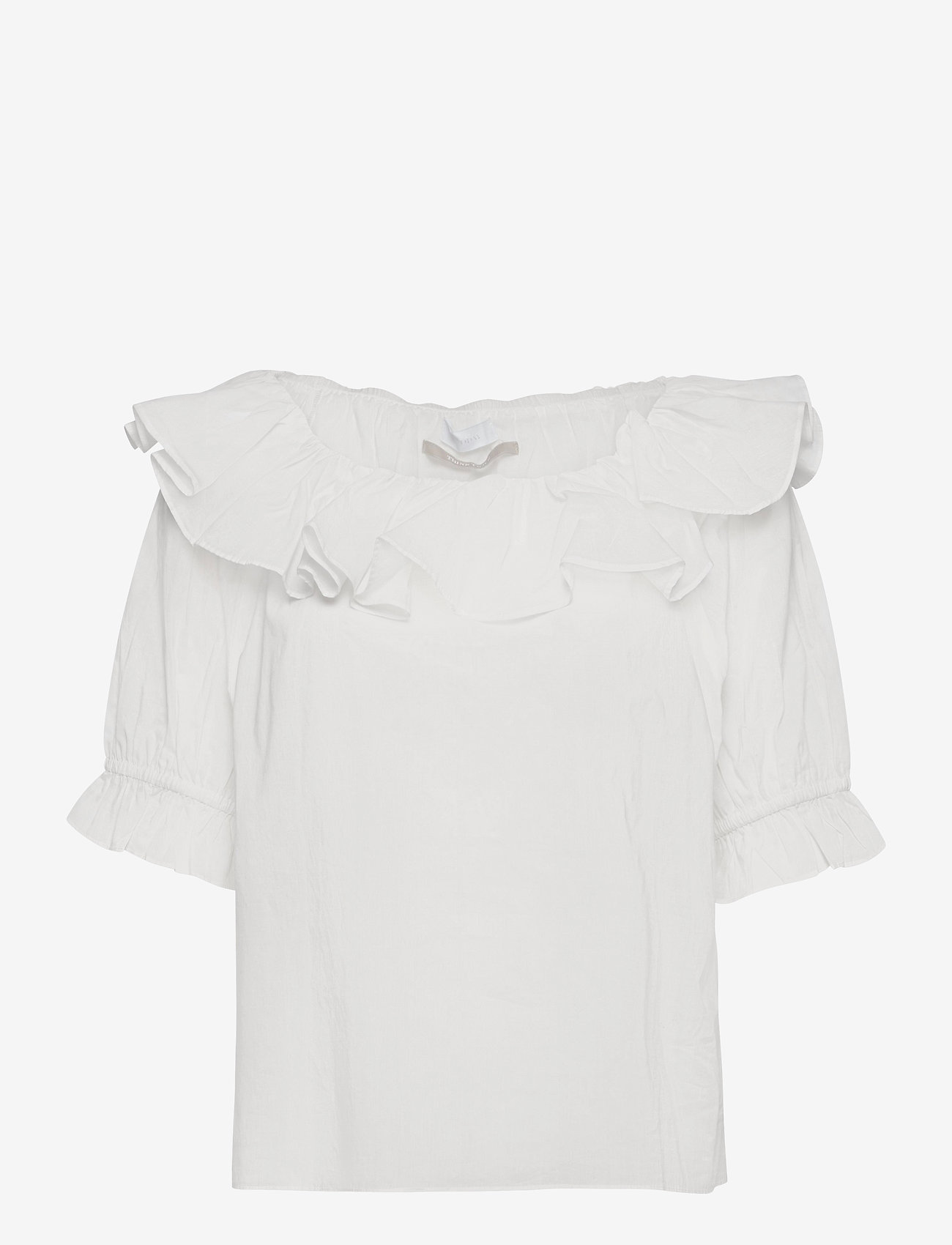 2NDDAY - 2ND Elon Thinktwice - short-sleeved blouses - bright white - 0
