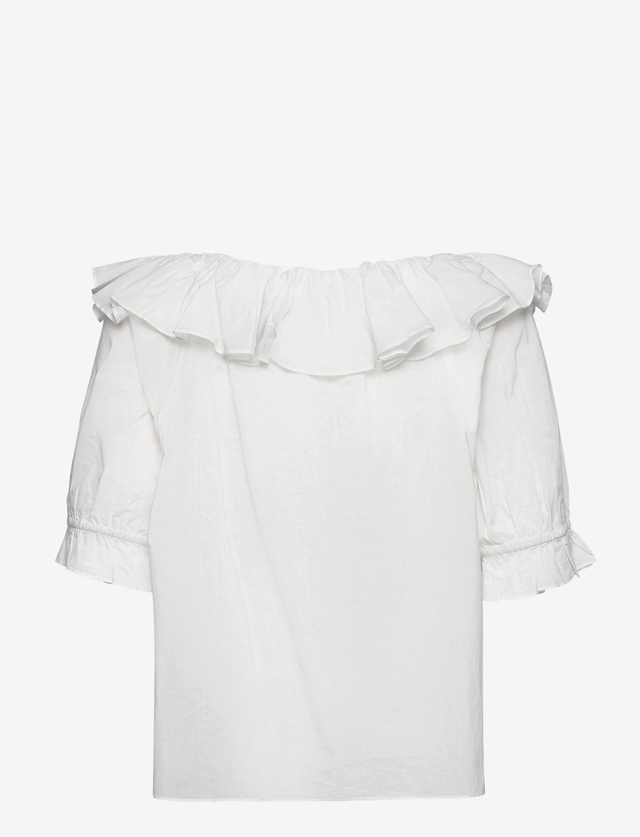 2NDDAY - 2ND Elon Thinktwice - short-sleeved blouses - bright white - 1