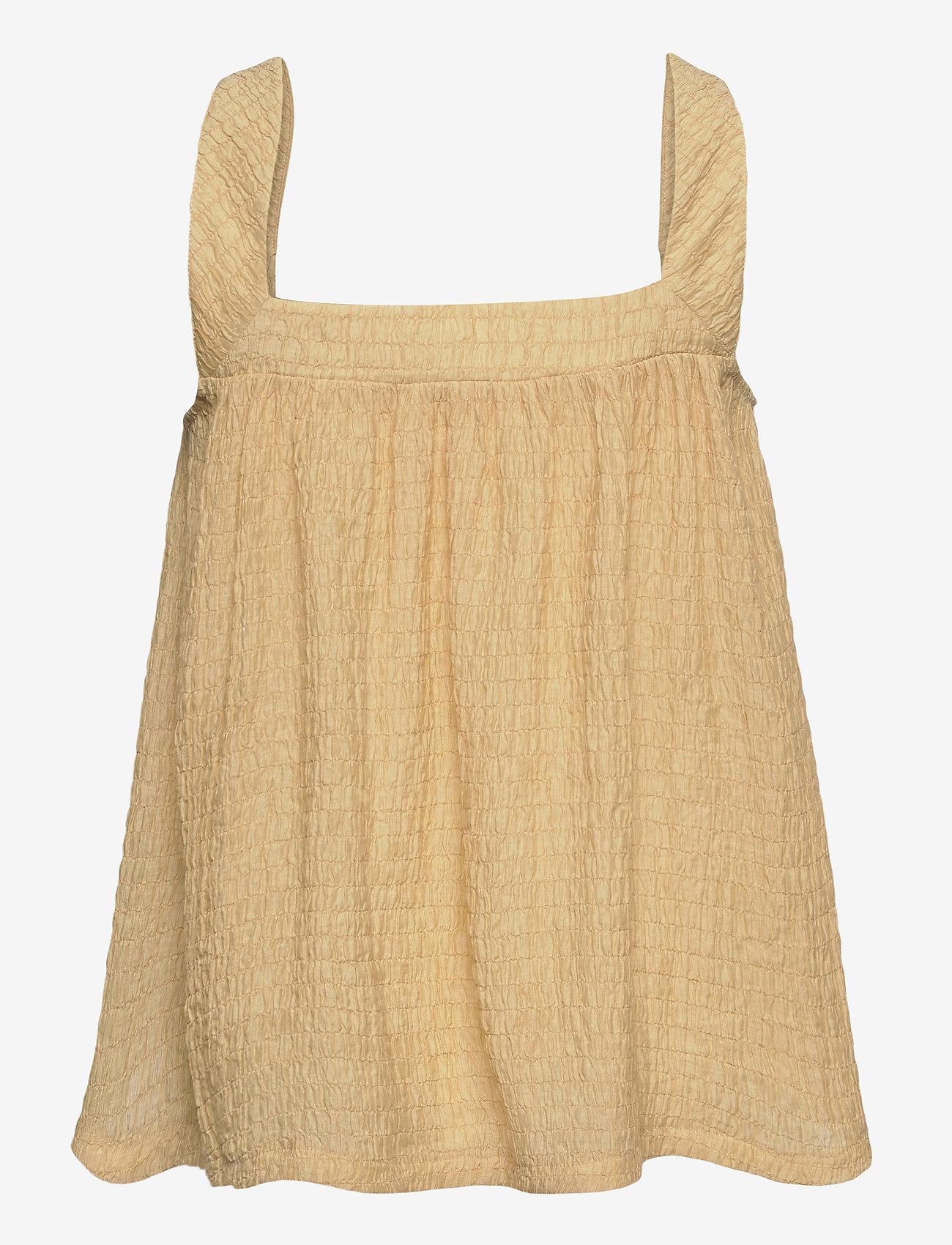 2NDDAY - 2ND Paulo - sleeveless blouses - soybean - 1