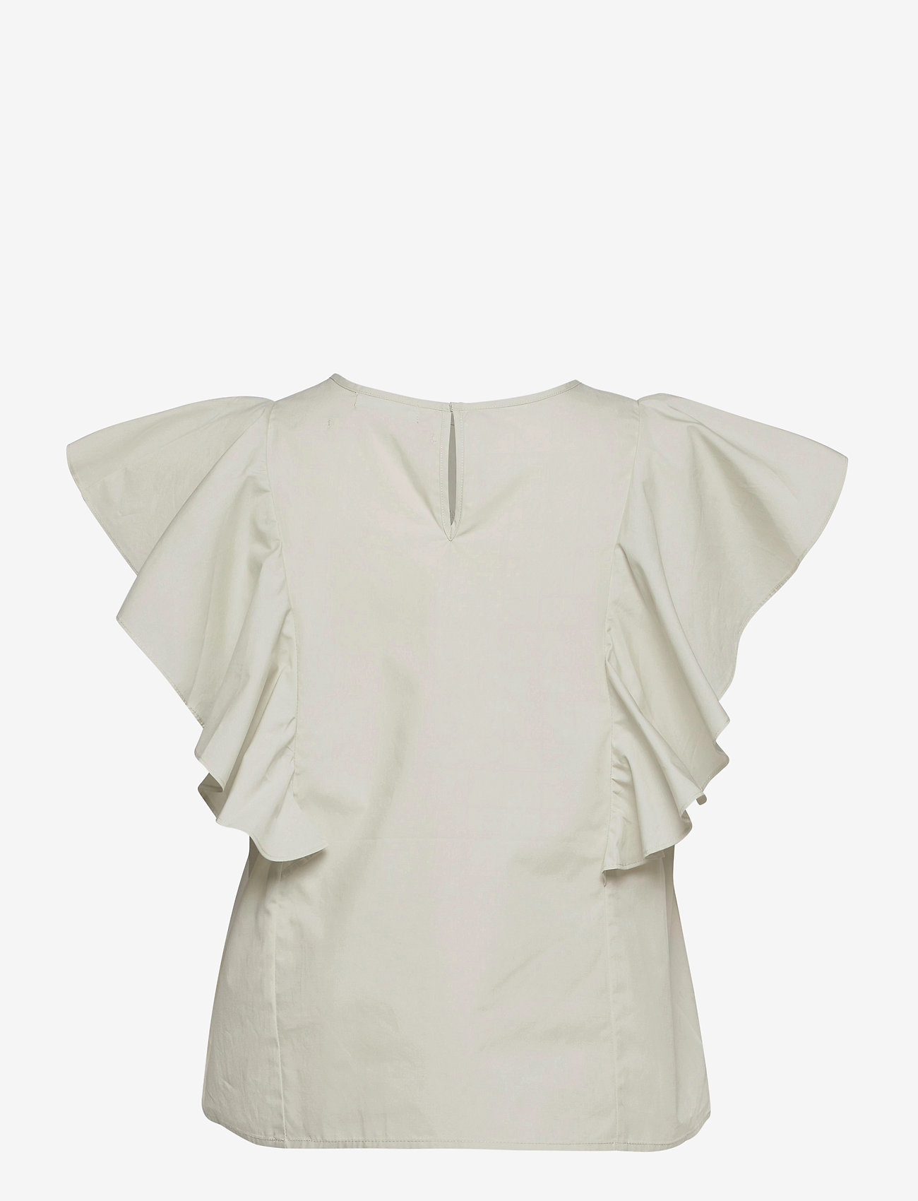 2NDDAY - 2ND Leonid Thinktwice - short-sleeved blouses - silver birch - 1