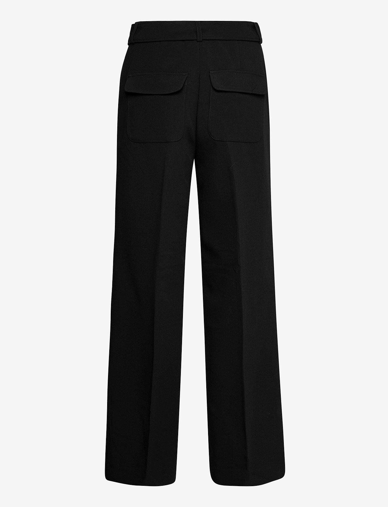 2NDDAY - 2ND Leonardo - straight leg trousers - black - 1