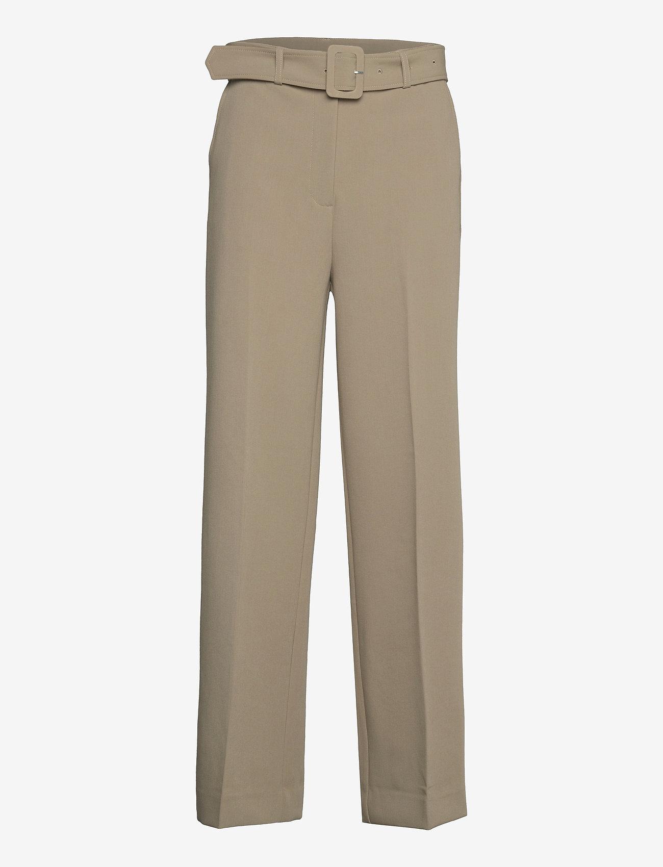 2NDDAY - 2ND Leonardo - straight leg trousers - winter twig - 0