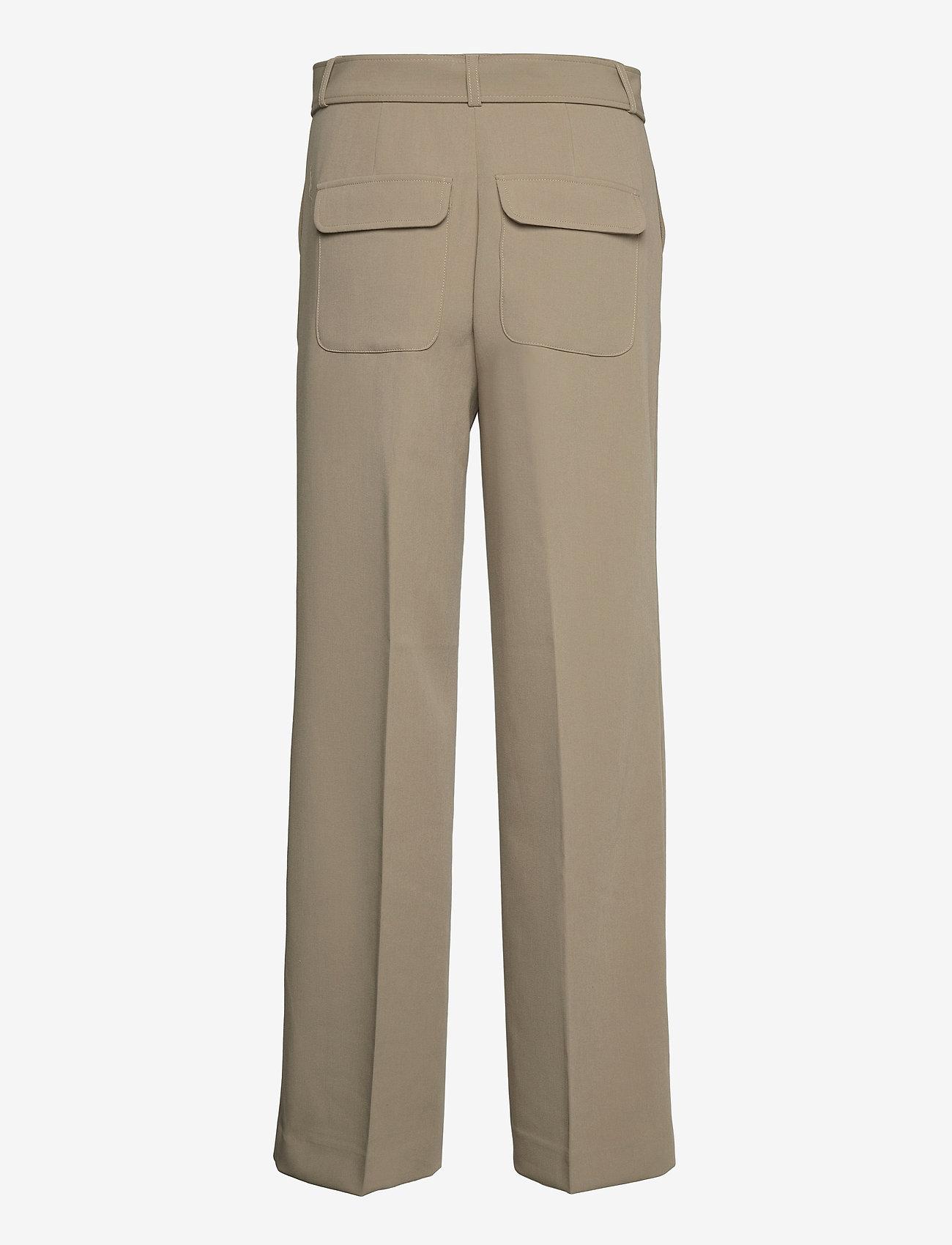 2NDDAY - 2ND Leonardo - straight leg trousers - winter twig - 1