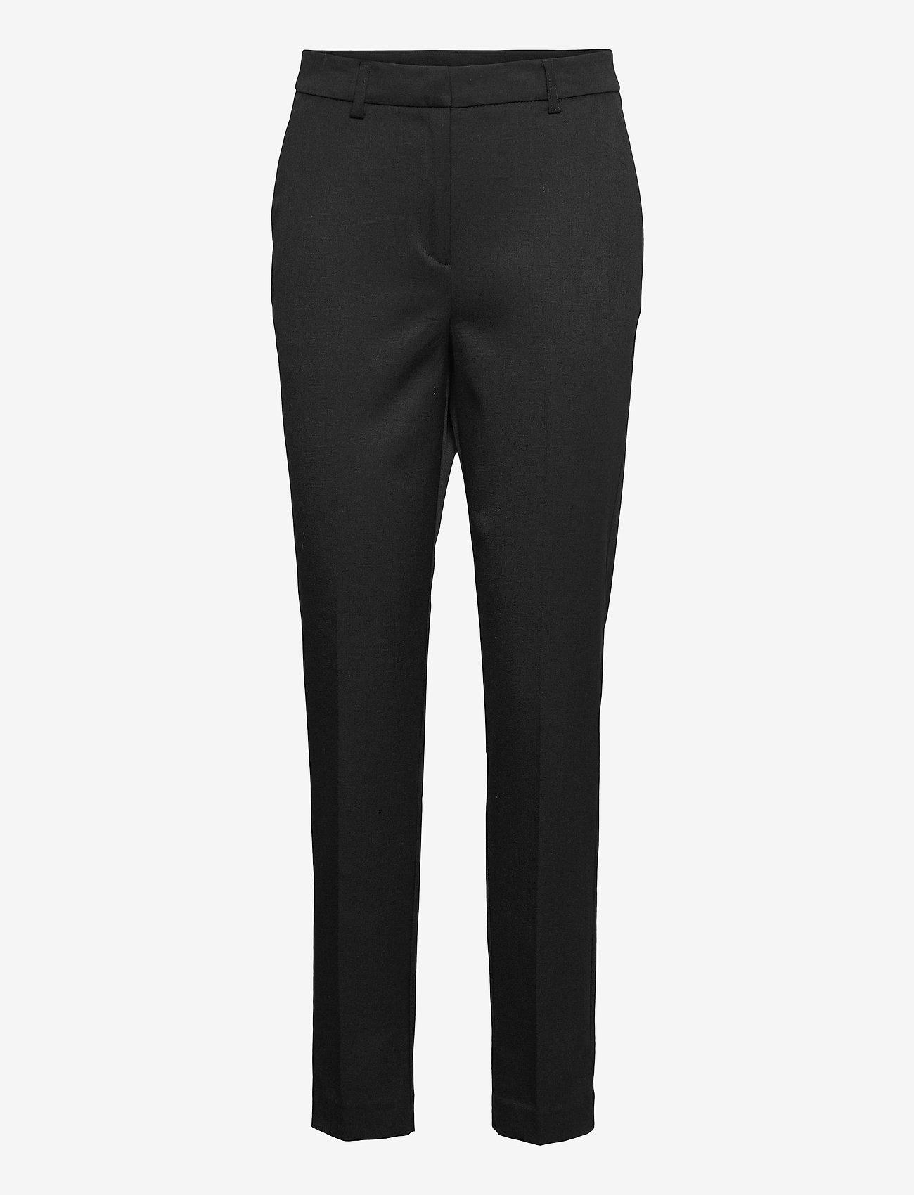 2NDDAY - 2ND Gabel - straight leg trousers - black - 0