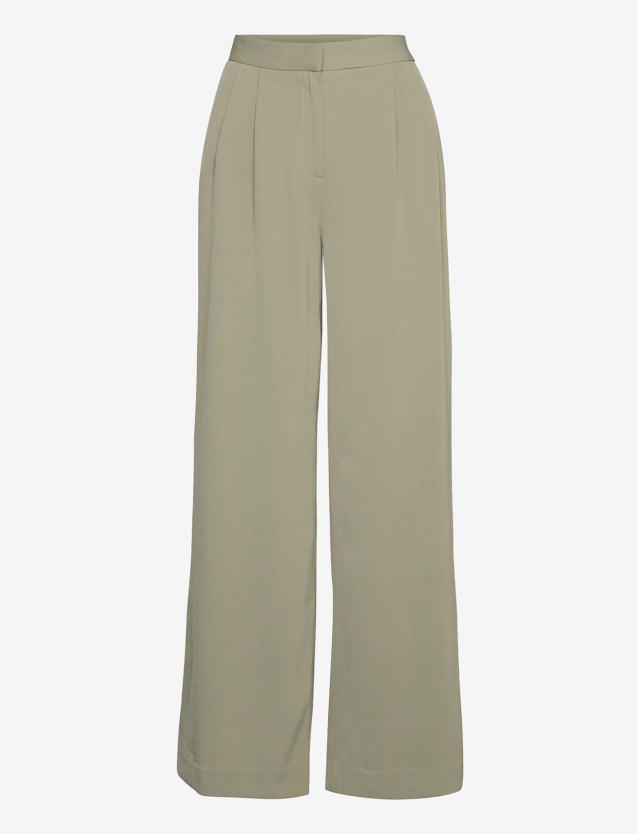 2NDDAY - 2ND Mille - wide leg trousers - desert sage - 0